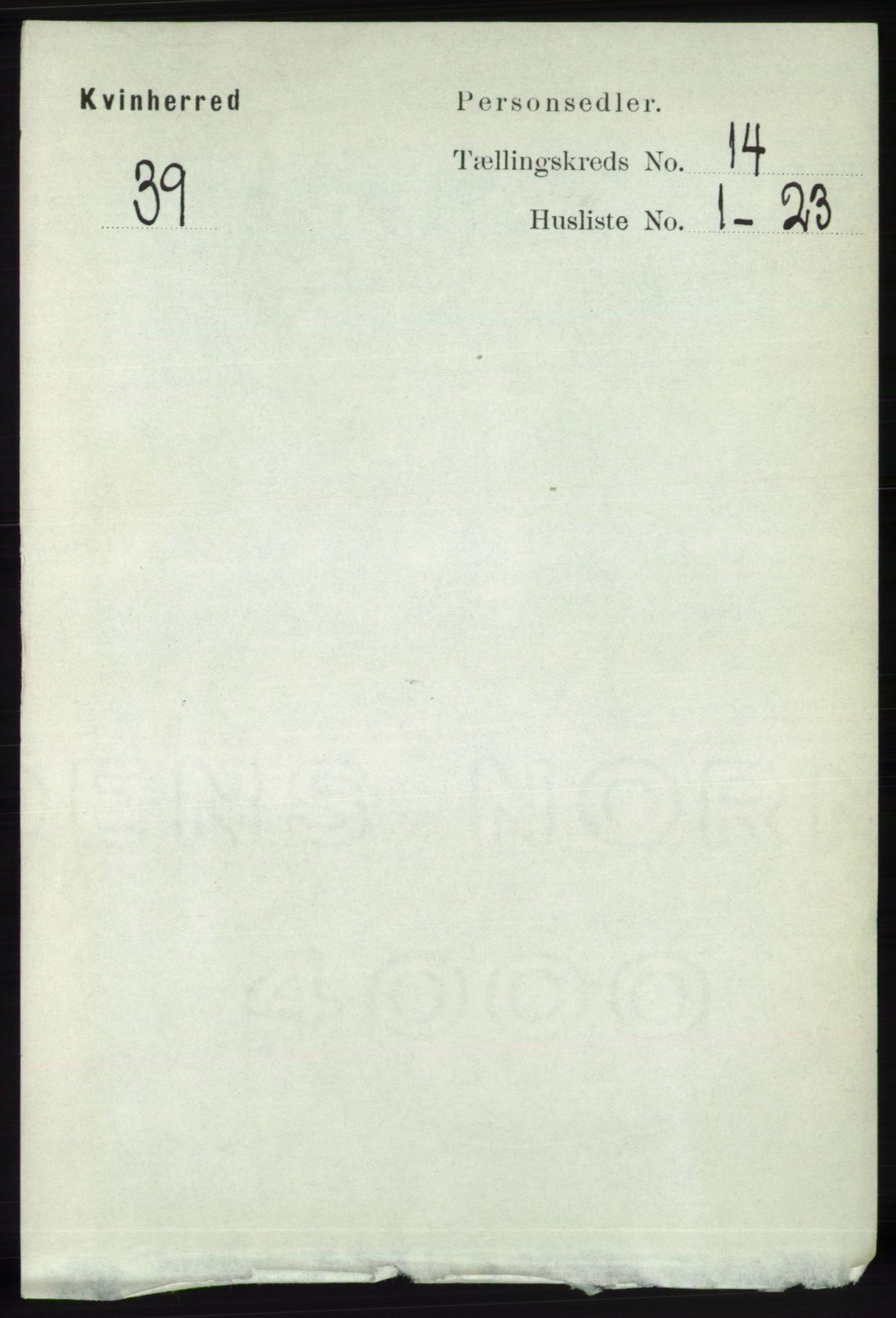 RA, Folketelling 1891 for 1224 Kvinnherad herred, 1891, s. 4666
