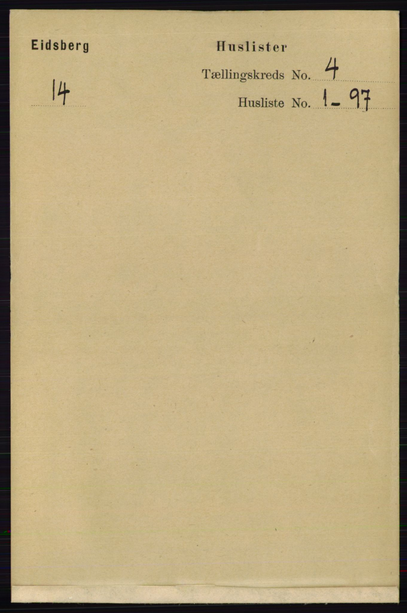 RA, Folketelling 1891 for 0125 Eidsberg herred, 1891, s. 2270