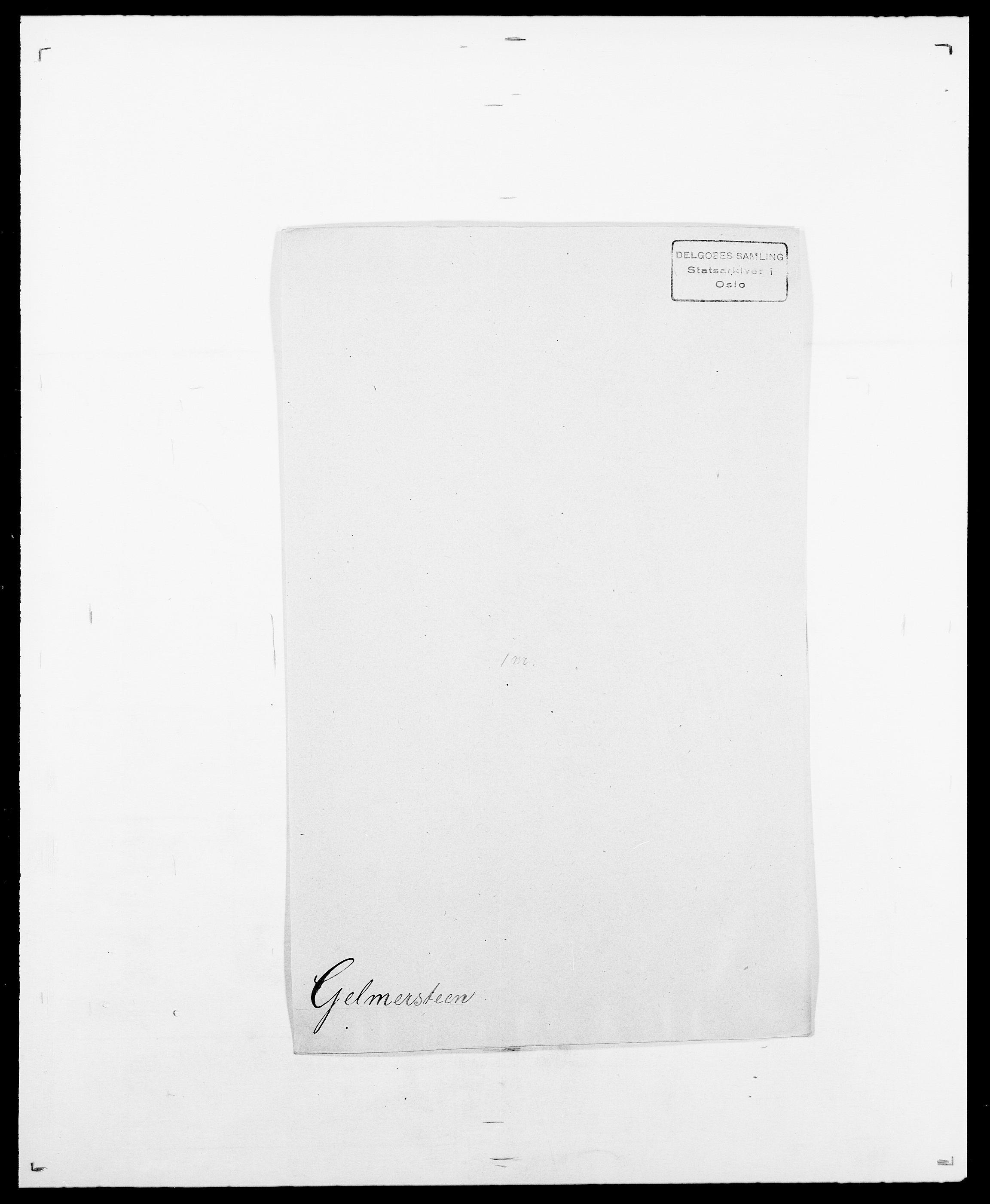 SAO, Delgobe, Charles Antoine - samling, D/Da/L0013: Forbos - Geving, s. 611