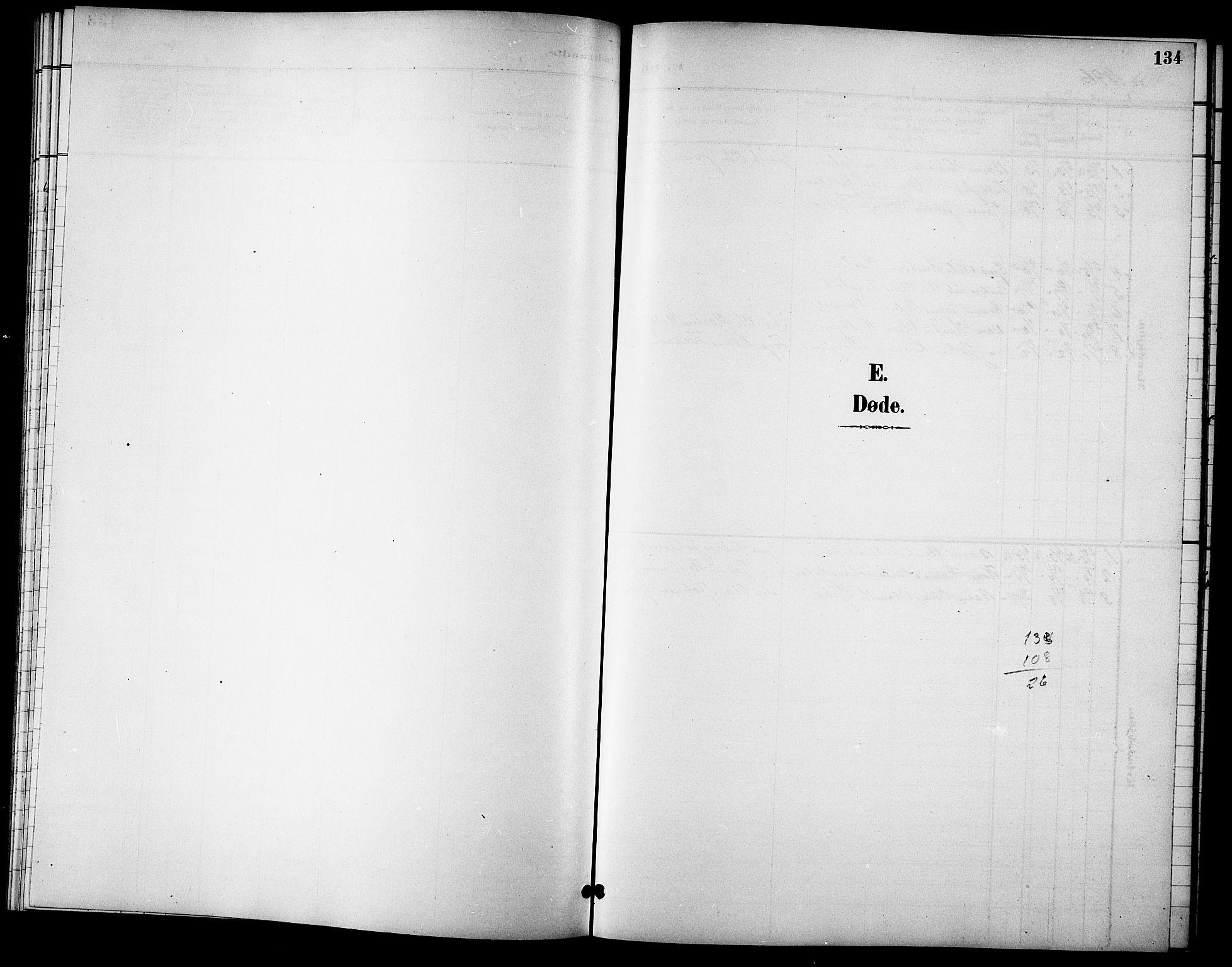SAT, Ministerialprotokoller, klokkerbøker og fødselsregistre - Sør-Trøndelag, 621/L0460: Klokkerbok nr. 621C03, 1896-1914, s. 134