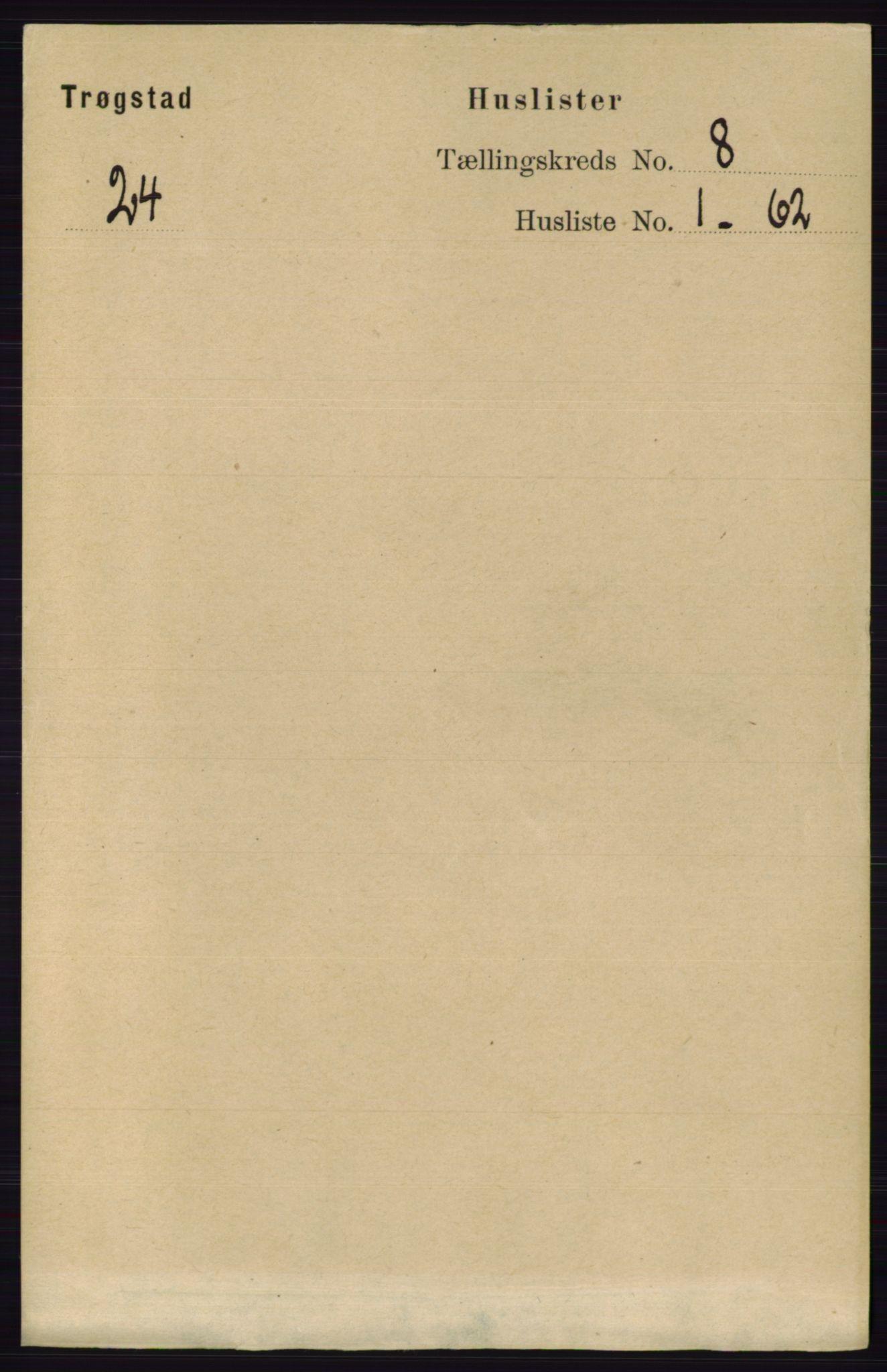RA, Folketelling 1891 for 0122 Trøgstad herred, 1891, s. 3370