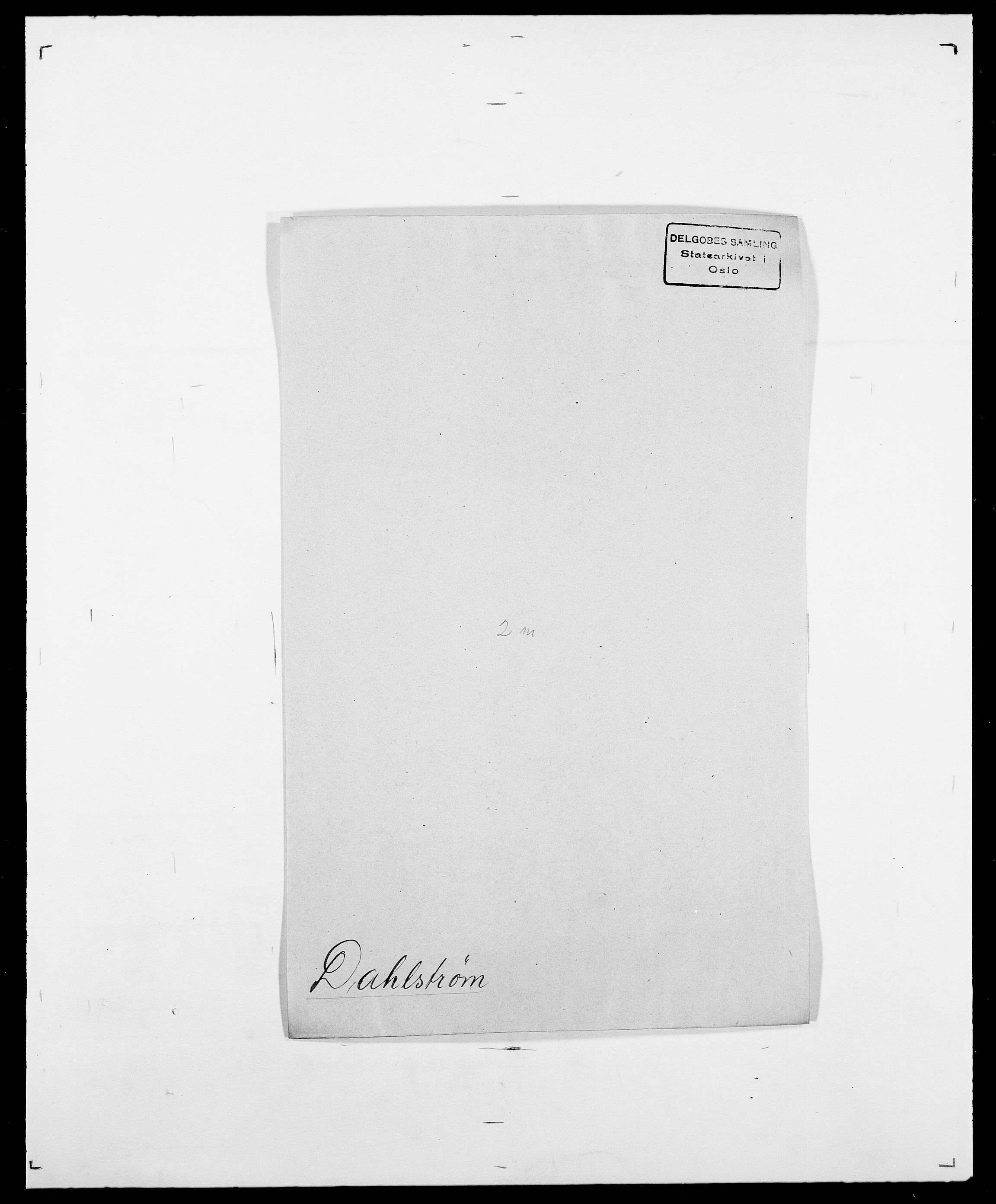 SAO, Delgobe, Charles Antoine - samling, D/Da/L0009: Dahl - v. Düren, s. 219