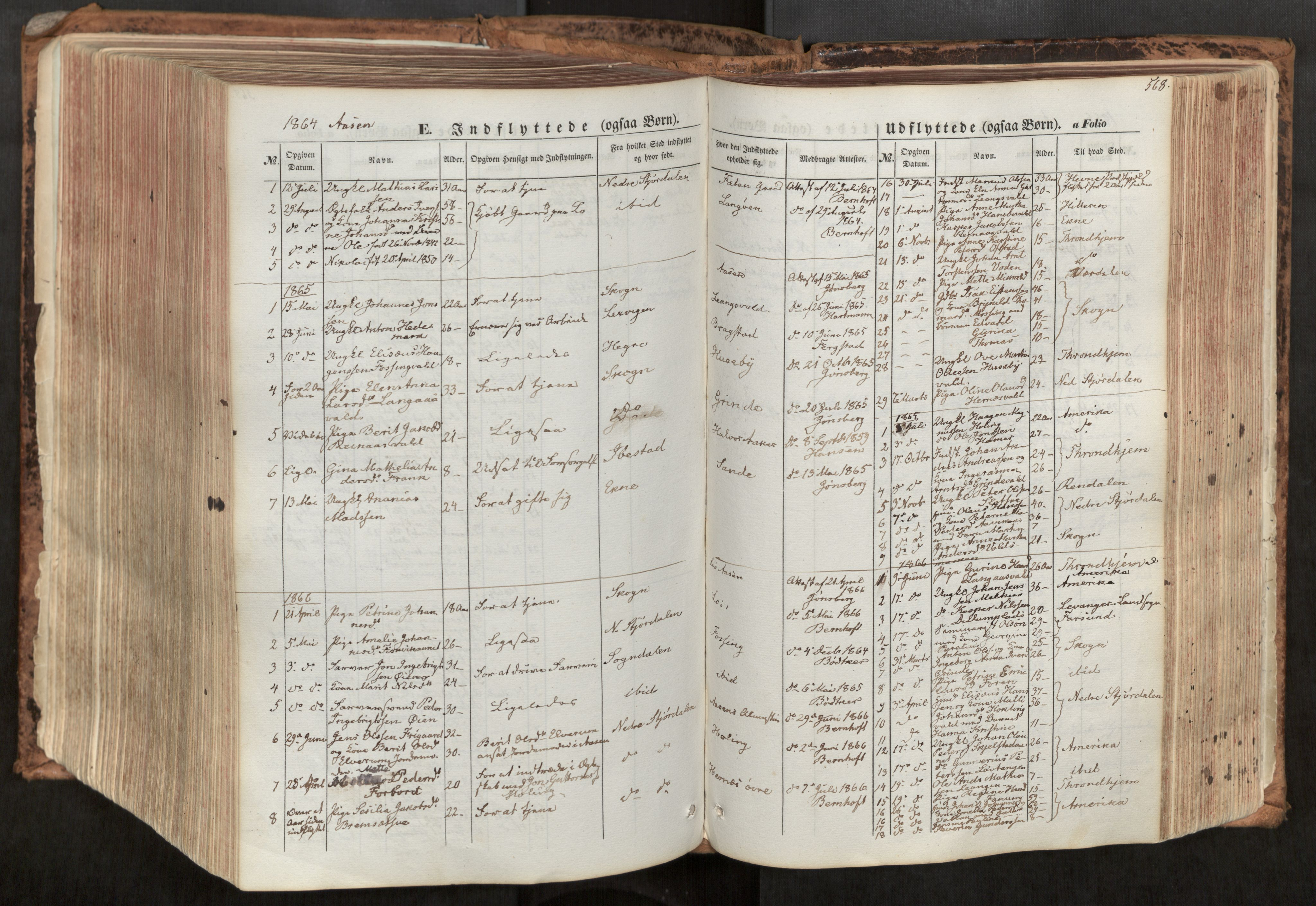 SAT, Ministerialprotokoller, klokkerbøker og fødselsregistre - Nord-Trøndelag, 713/L0116: Ministerialbok nr. 713A07, 1850-1877, s. 568