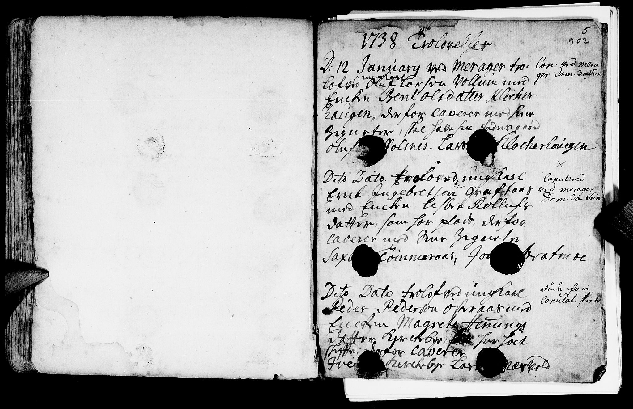 SAT, Ministerialprotokoller, klokkerbøker og fødselsregistre - Nord-Trøndelag, 709/L0055: Ministerialbok nr. 709A03, 1730-1739, s. 901-902