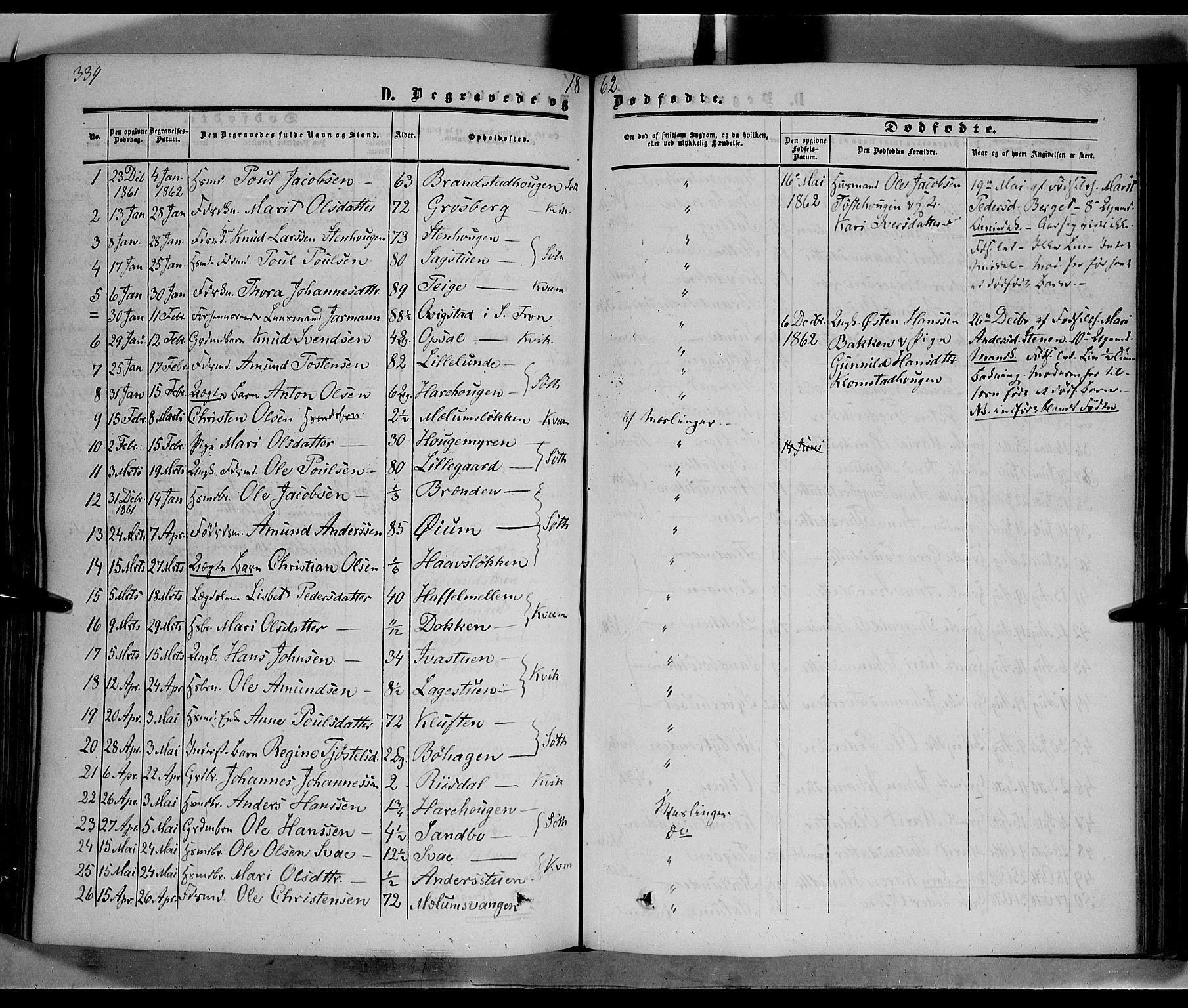SAH, Nord-Fron prestekontor, Ministerialbok nr. 1, 1851-1864, s. 339