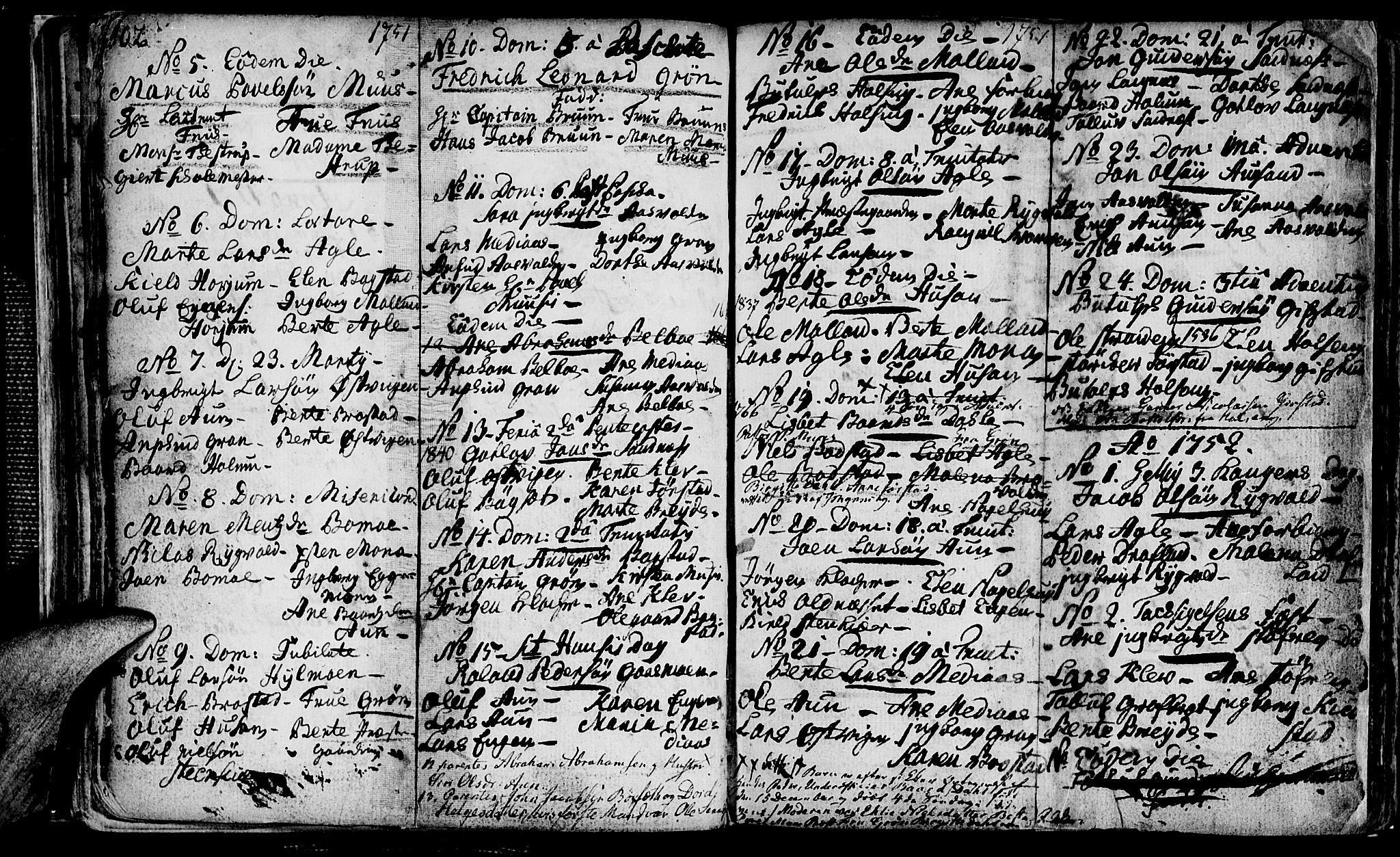 SAT, Ministerialprotokoller, klokkerbøker og fødselsregistre - Nord-Trøndelag, 749/L0467: Ministerialbok nr. 749A01, 1733-1787, s. 102-103