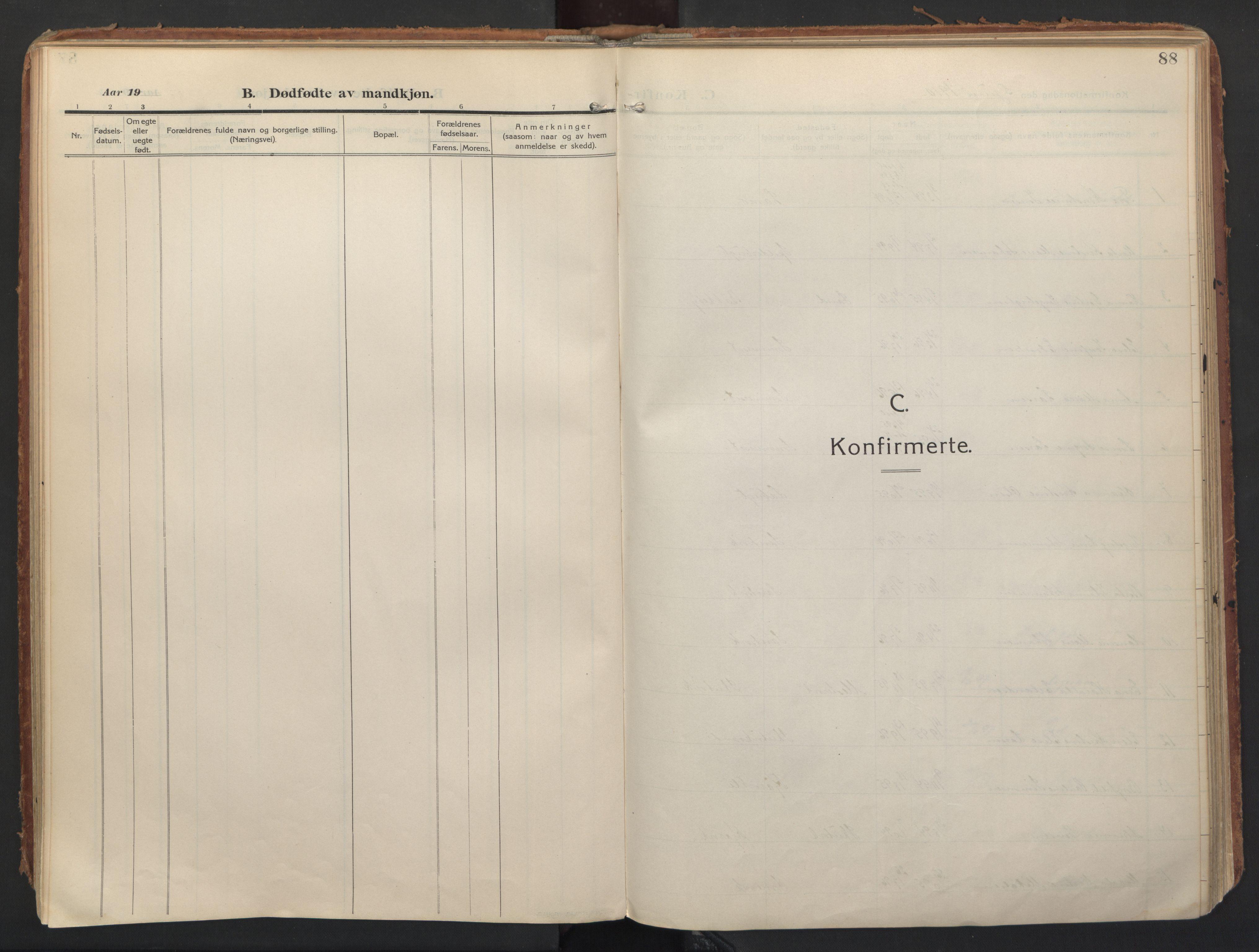 SATØ, Balsfjord sokneprestembete, Ministerialbok nr. 8, 1910-1927, s. 88