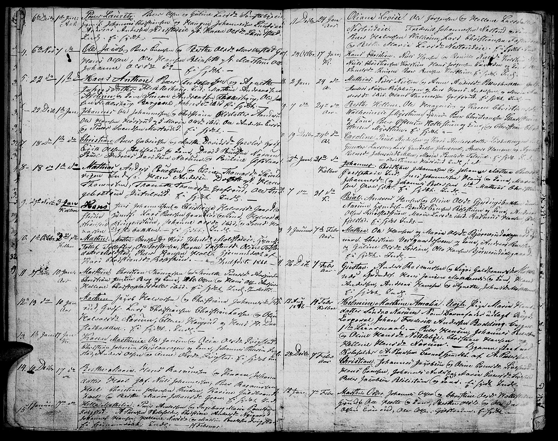 SAH, Vestre Toten prestekontor, Klokkerbok nr. 3, 1846-1854, s. 11