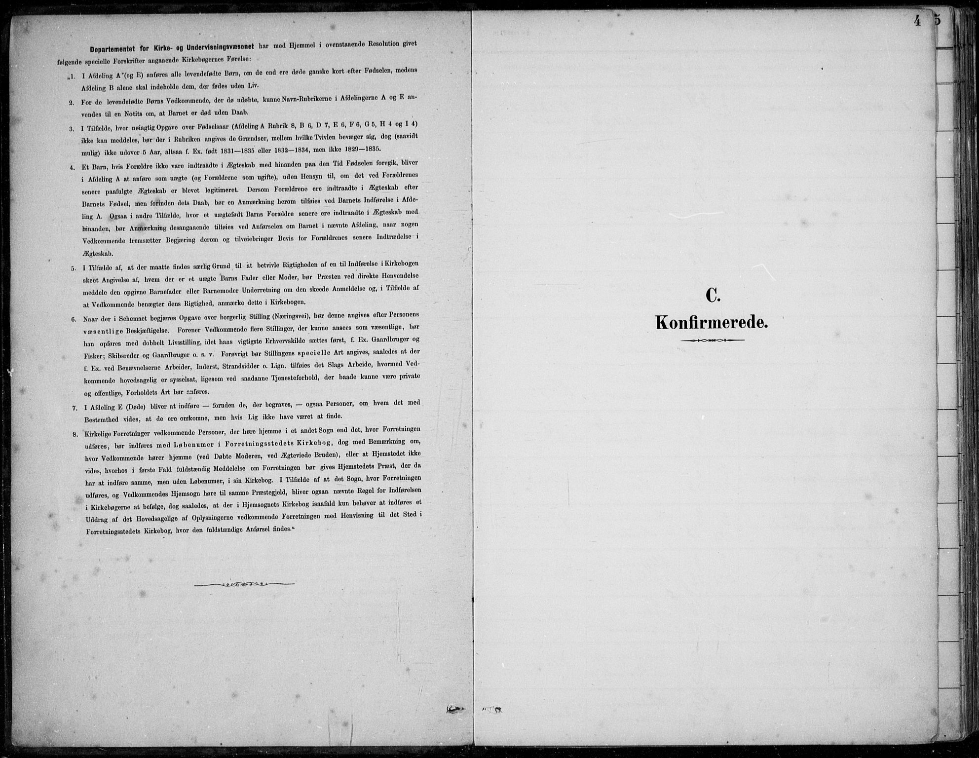 SAB, Årstad Sokneprestembete, H/Haa/L0006: Ministerialbok nr. B 1, 1886-1901, s. 4