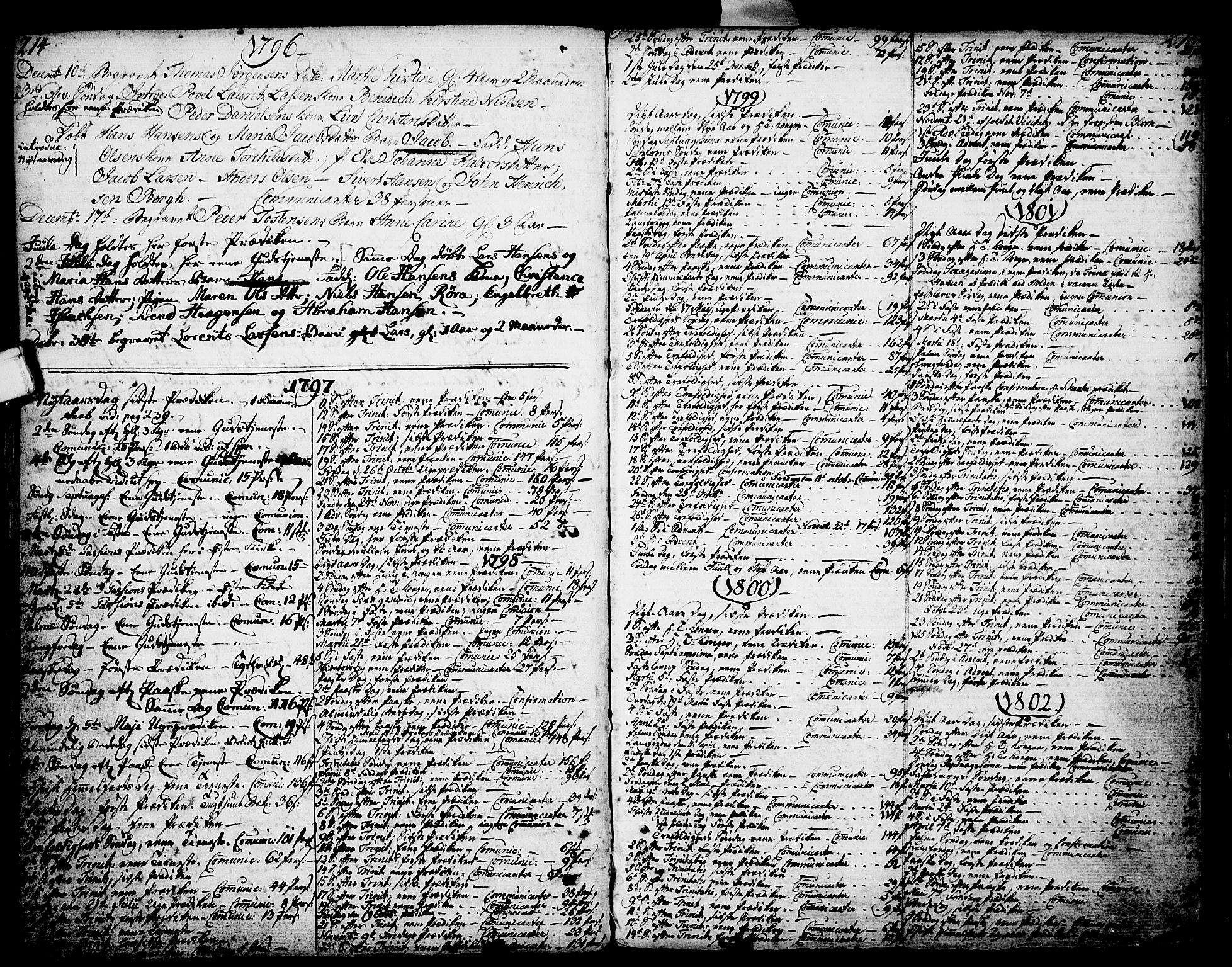 SAKO, Porsgrunn kirkebøker , F/Fa/L0002: Ministerialbok nr. 2, 1764-1814, s. 214-215