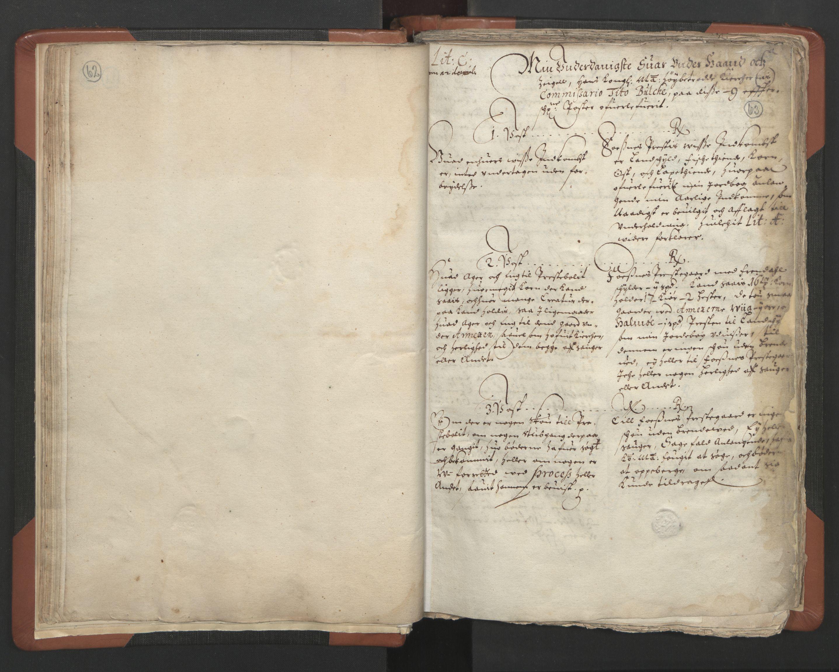 RA, Sogneprestenes manntall 1664-1666, nr. 34: Namdal prosti, 1664-1666, s. 62-63