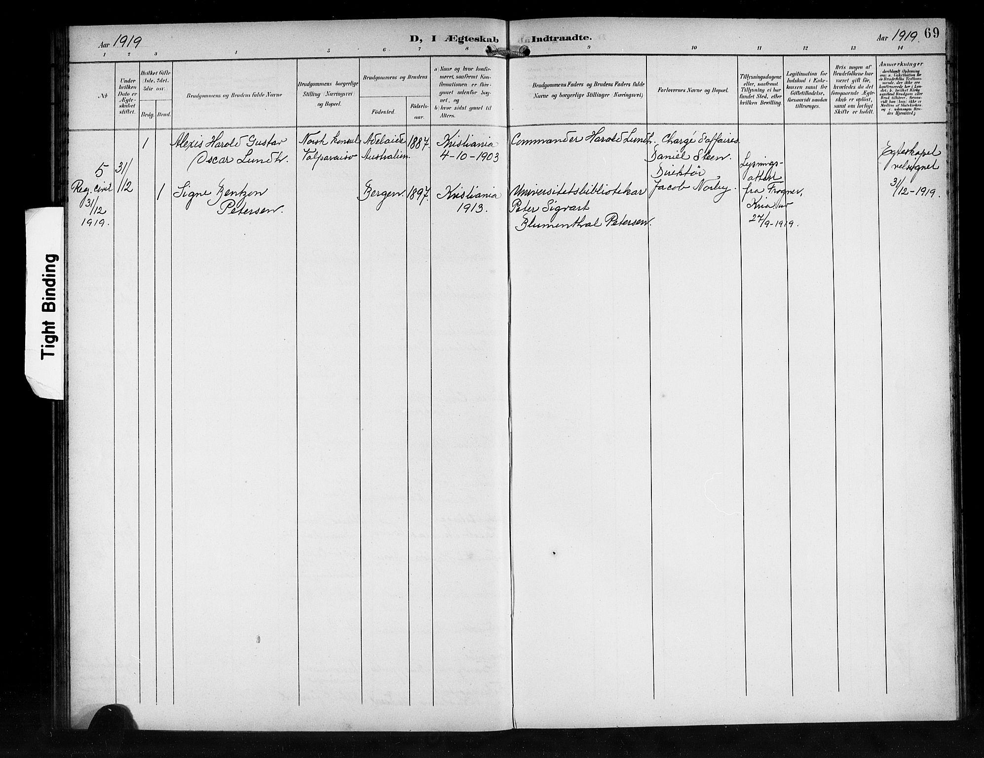 SAB, Den Norske Sjømannsmisjon i utlandet*, Ministerialbok nr. A 2, 1899-1919, s. 69