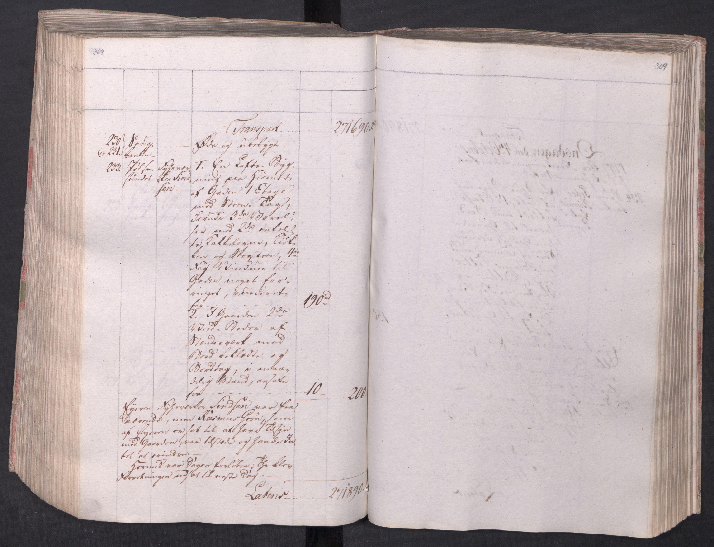 SAO, Kristiania stiftamt, I/Ia/L0015: Branntakster, 1797, s. 309