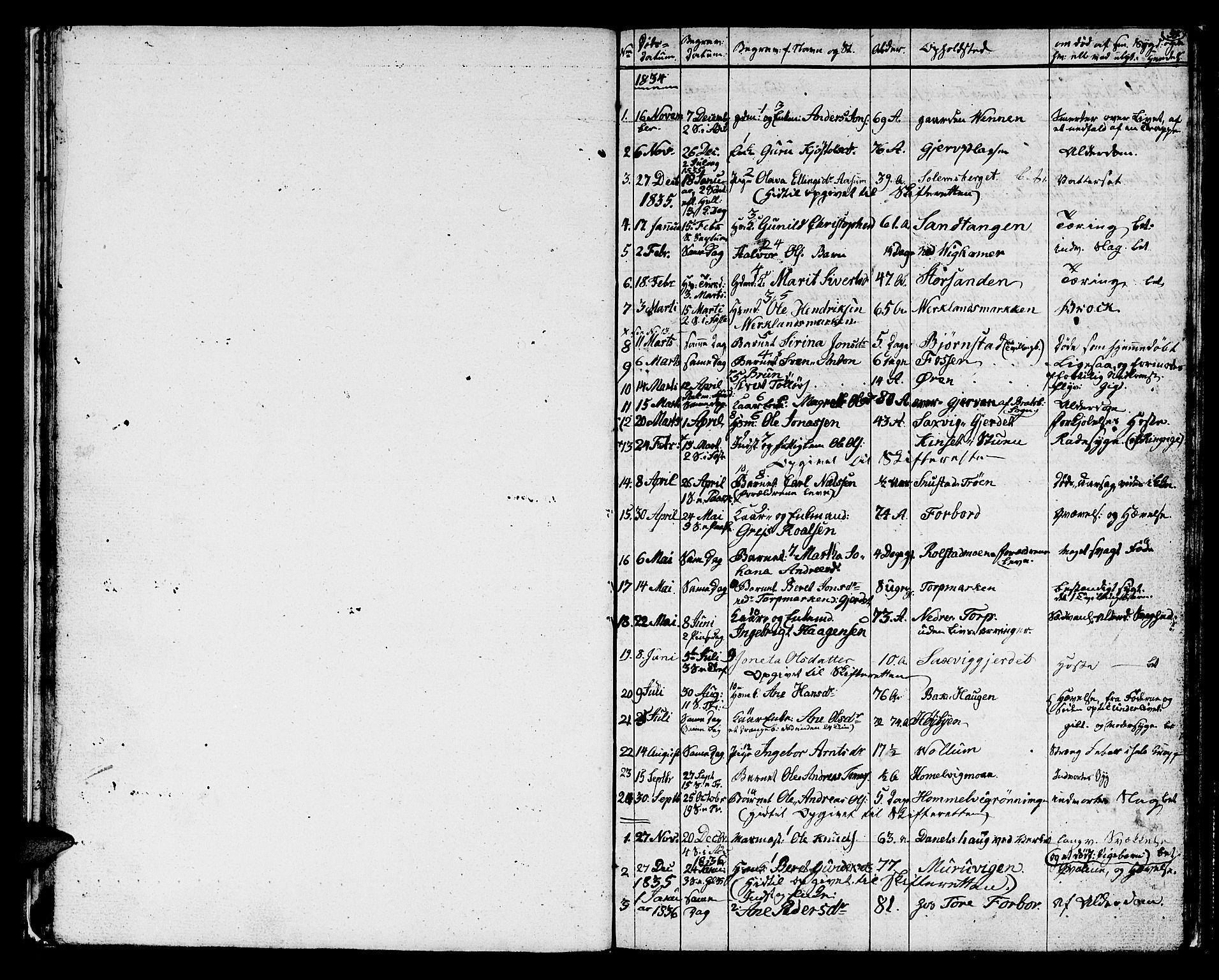 SAT, Ministerialprotokoller, klokkerbøker og fødselsregistre - Sør-Trøndelag, 616/L0421: Klokkerbok nr. 616C04, 1834-1850, s. 35