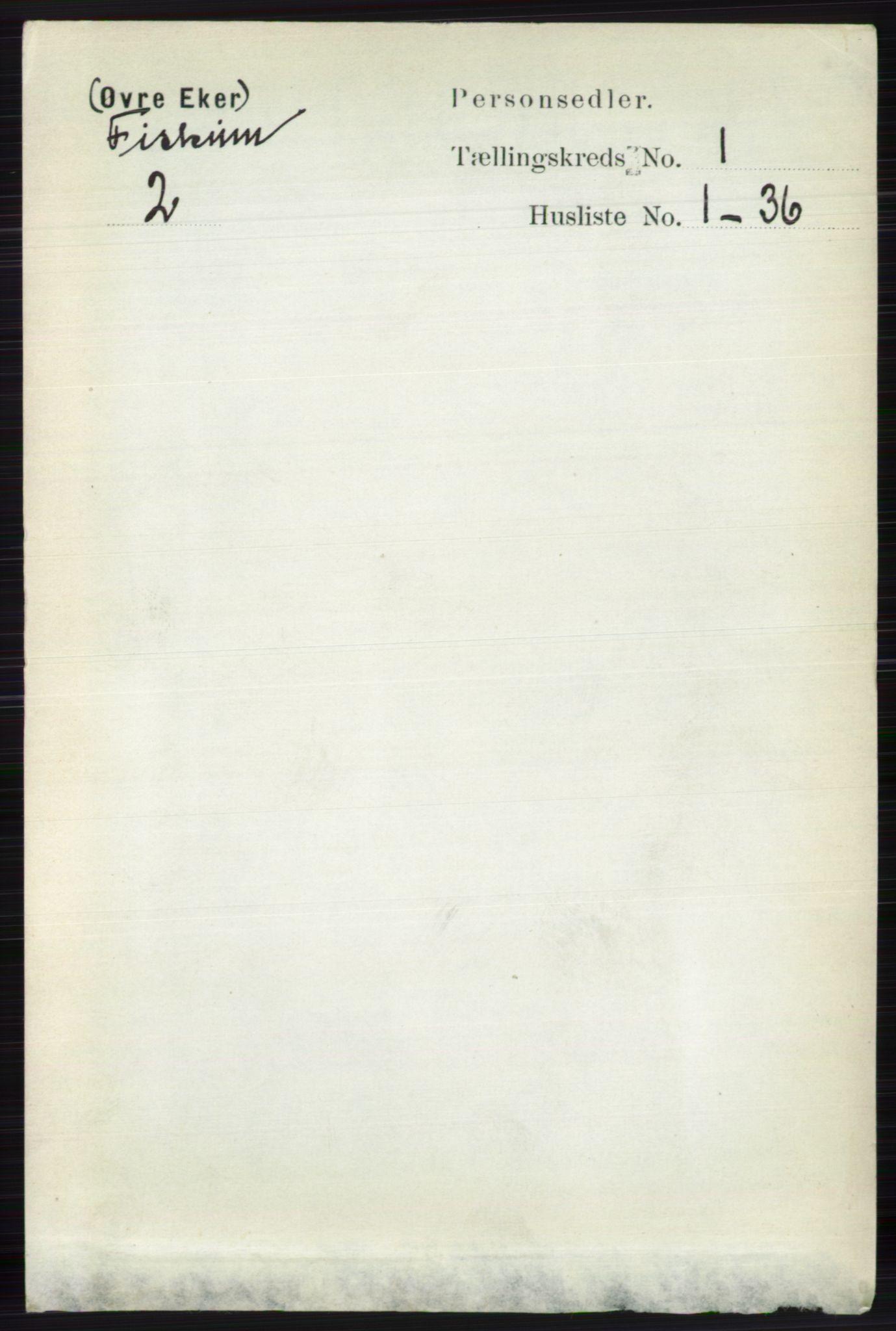 RA, Folketelling 1891 for 0624 Øvre Eiker herred, 1891, s. 7824