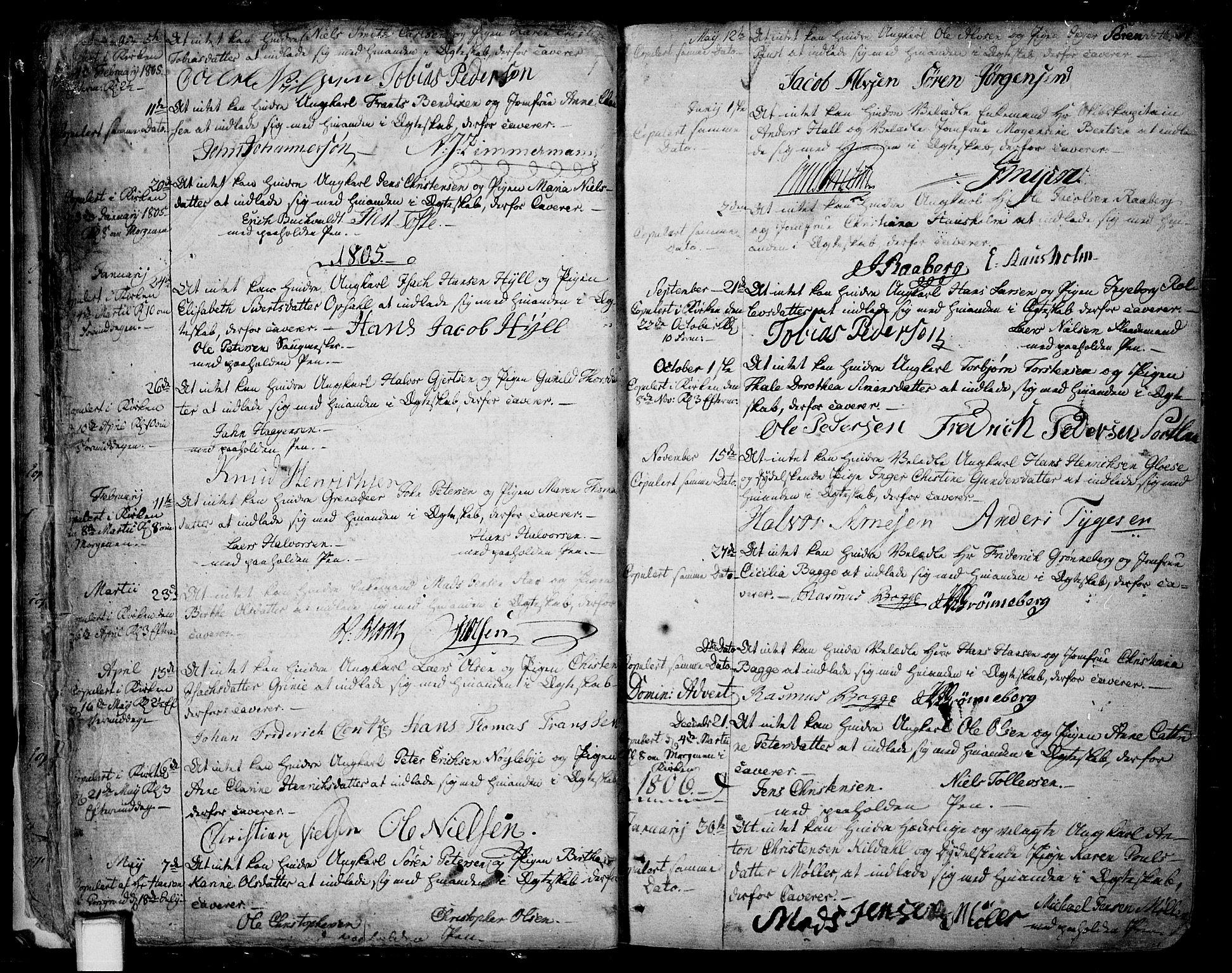 SAKO, Skien kirkebøker, F/Fa/L0004: Ministerialbok nr. 4, 1792-1814, s. 30-31