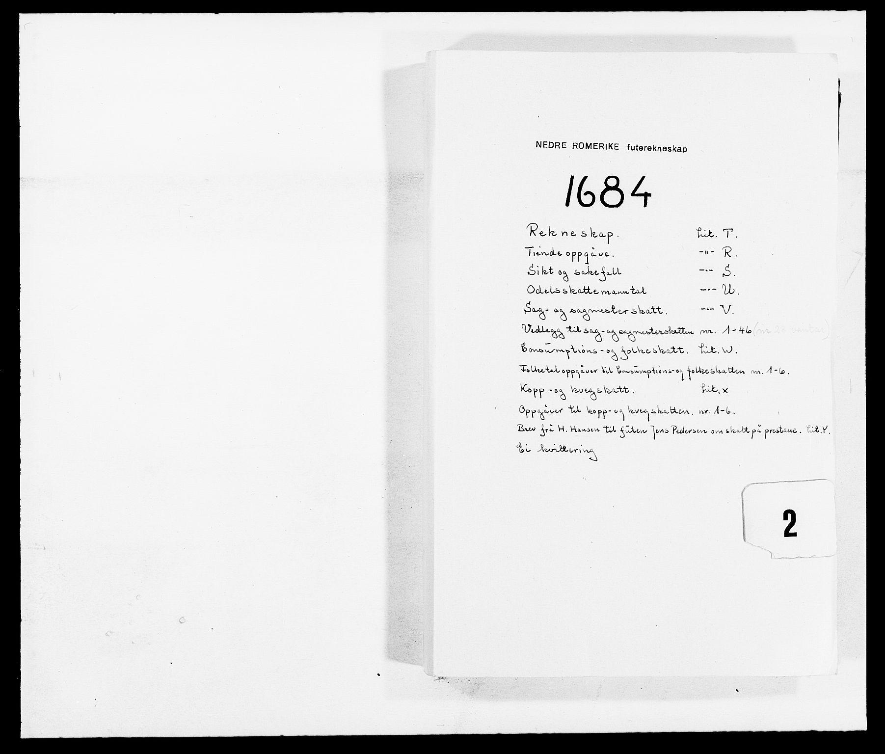 RA, Rentekammeret inntil 1814, Reviderte regnskaper, Fogderegnskap, R11/L0571: Fogderegnskap Nedre Romerike, 1683-1685, s. 162