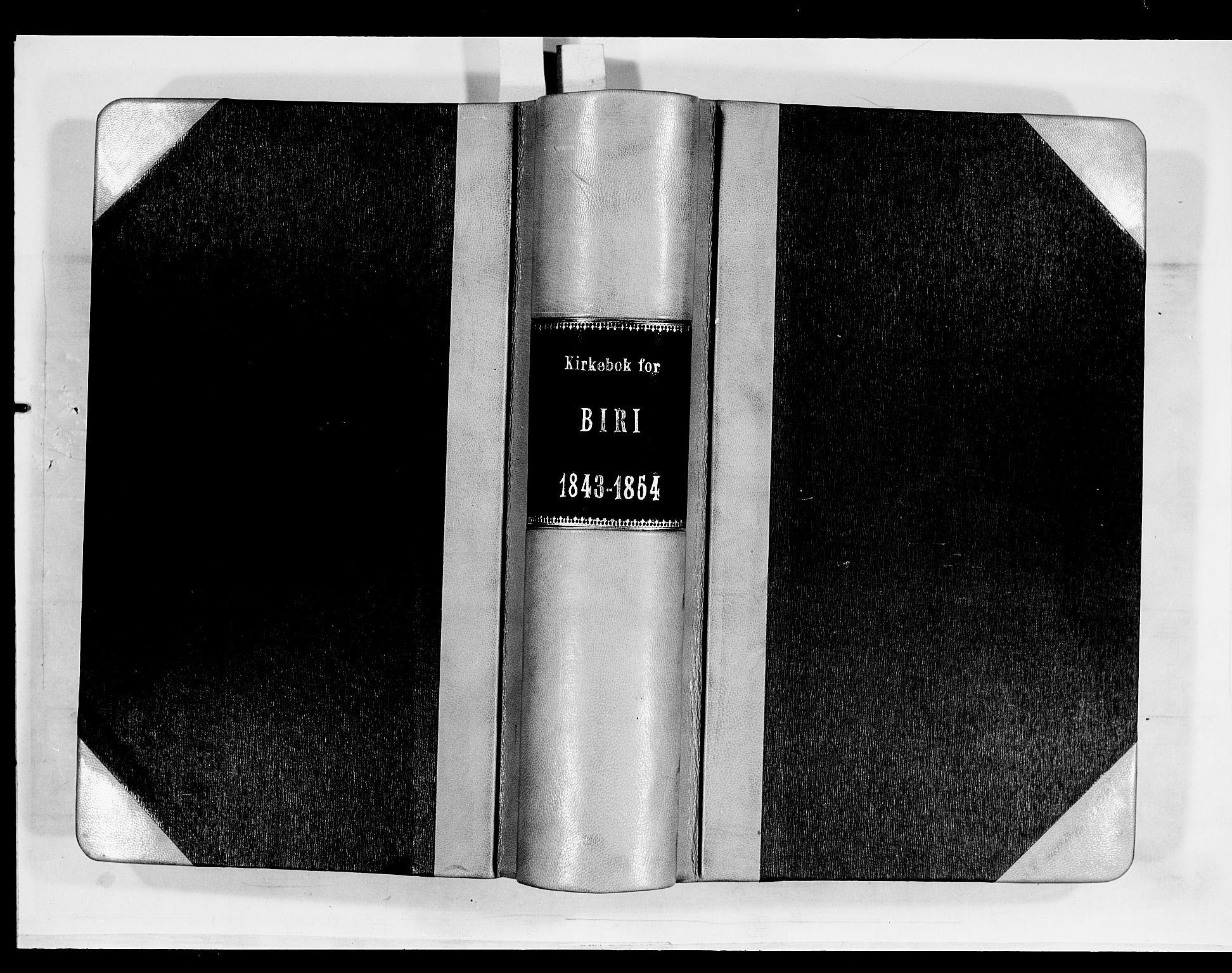 SAH, Biri prestekontor, Ministerialbok nr. 5, 1843-1854