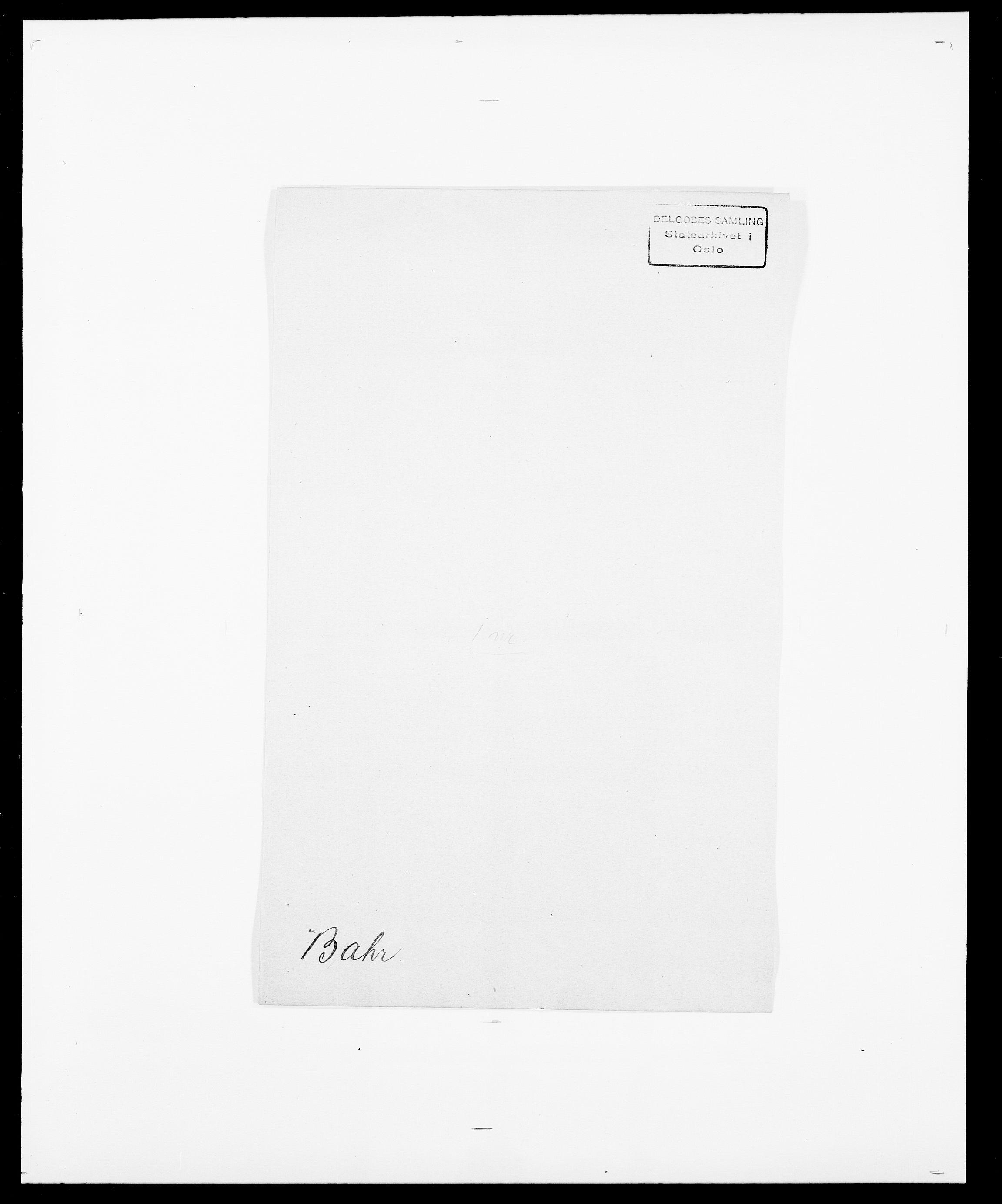 SAO, Delgobe, Charles Antoine - samling, D/Da/L0003: Barca - Bergen, s. 140