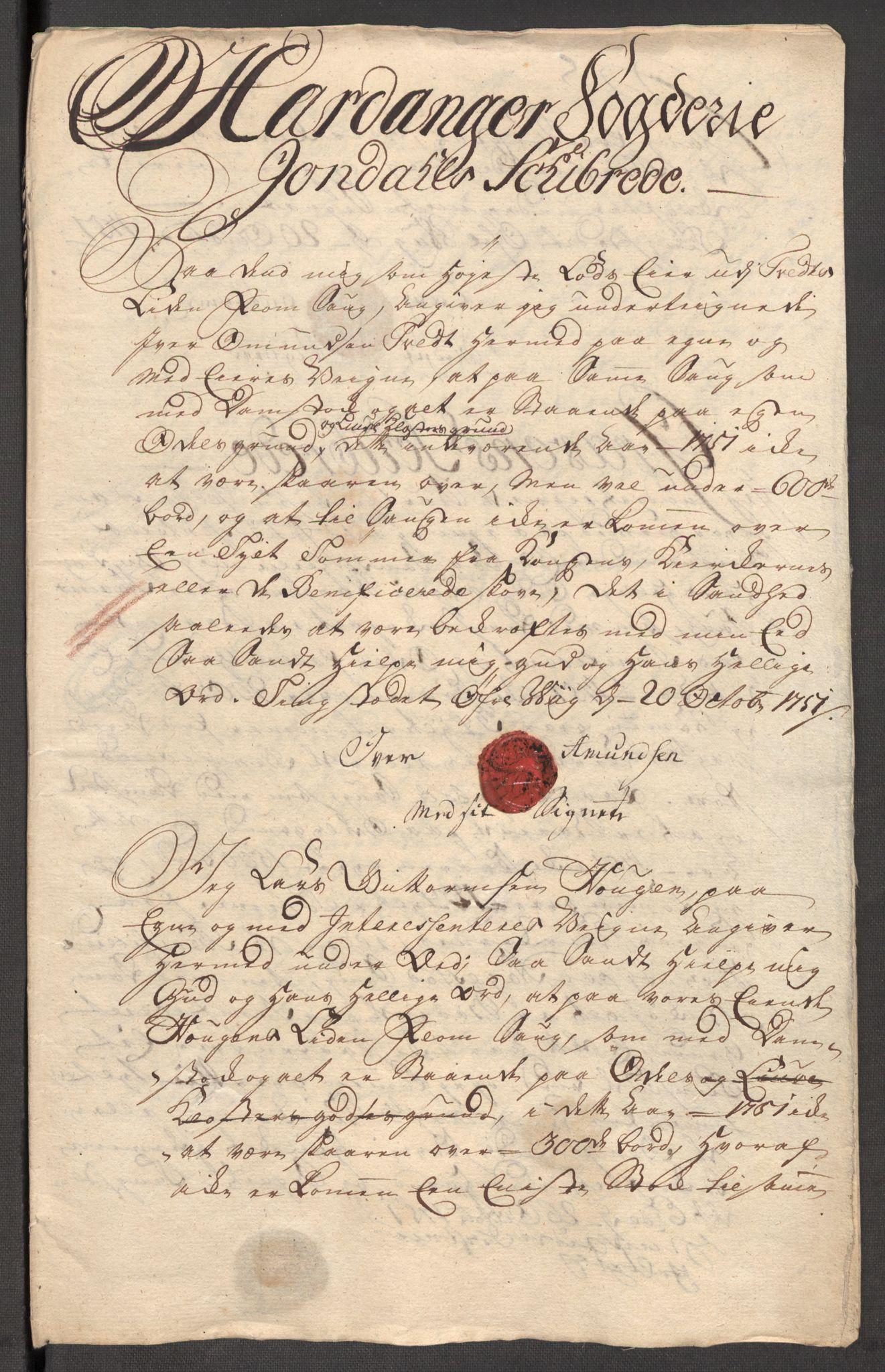 RA, Rentekammeret inntil 1814, Reviderte regnskaper, Fogderegnskap, R48/L3056: Fogderegnskap Sunnhordland og Hardanger, 1751, s. 270