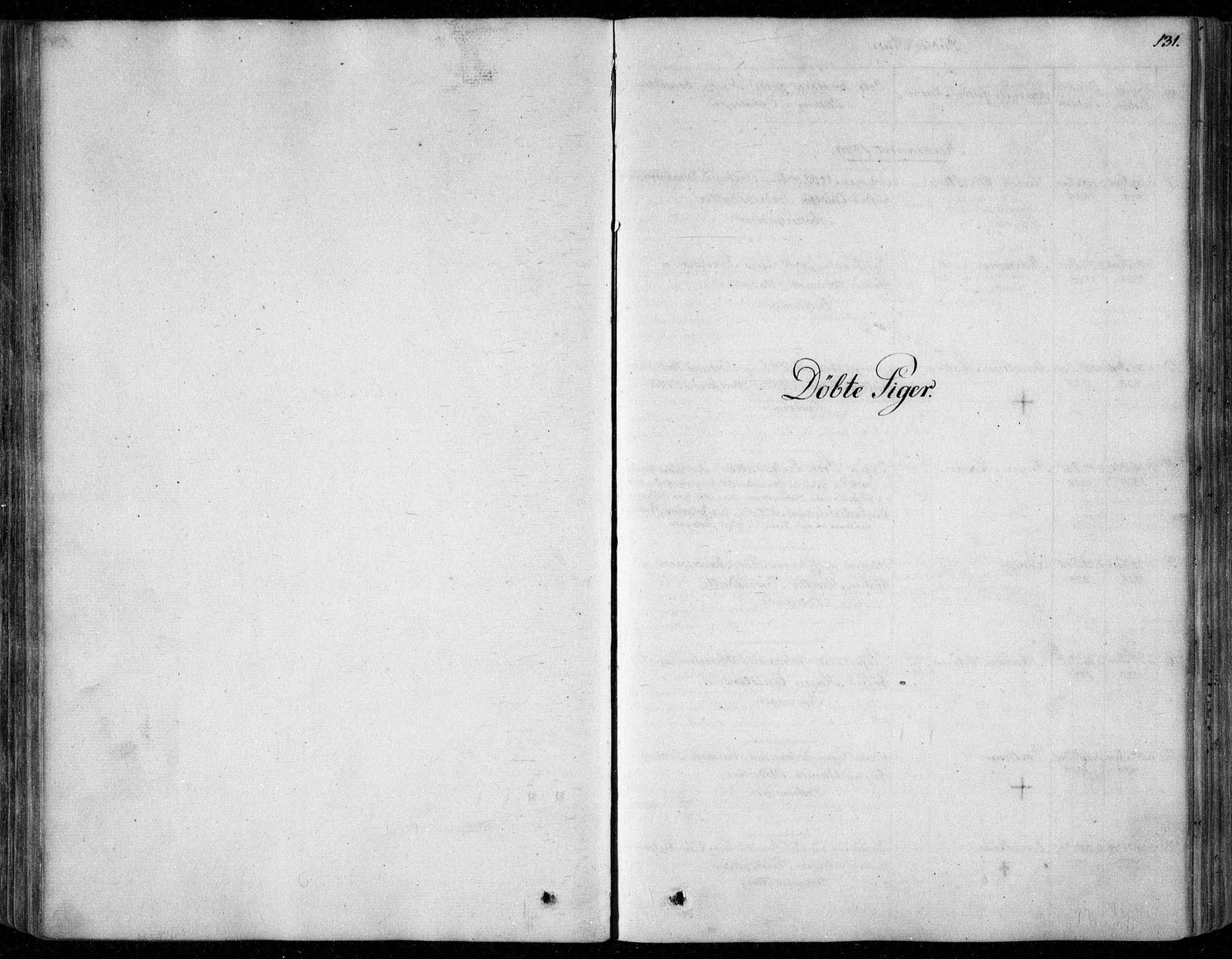 SAO, Garnisonsmenigheten Kirkebøker, F/Fa/L0006: Ministerialbok nr. 6, 1828-1841, s. 131