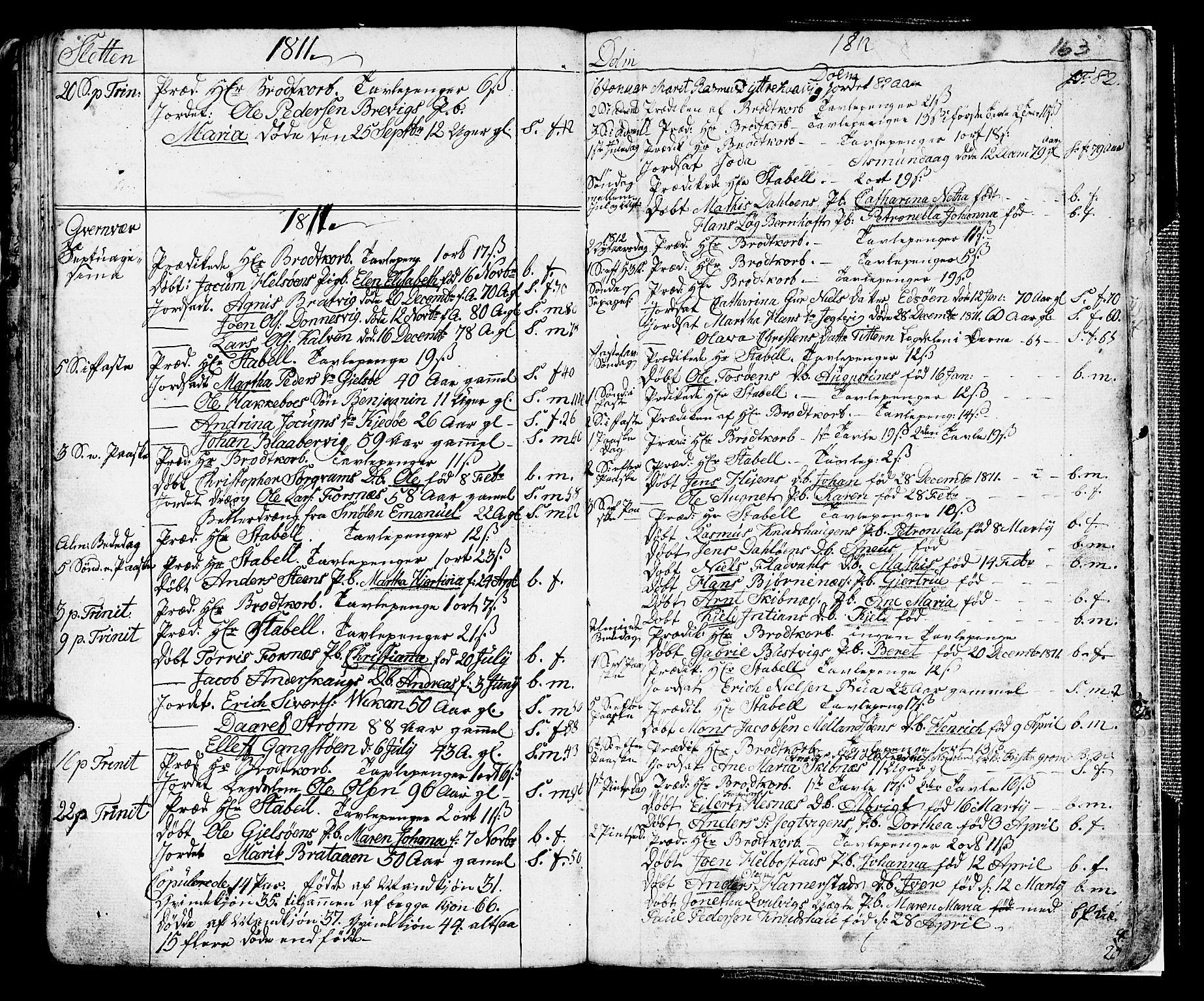 SAT, Ministerialprotokoller, klokkerbøker og fødselsregistre - Sør-Trøndelag, 634/L0526: Ministerialbok nr. 634A02, 1775-1818, s. 163