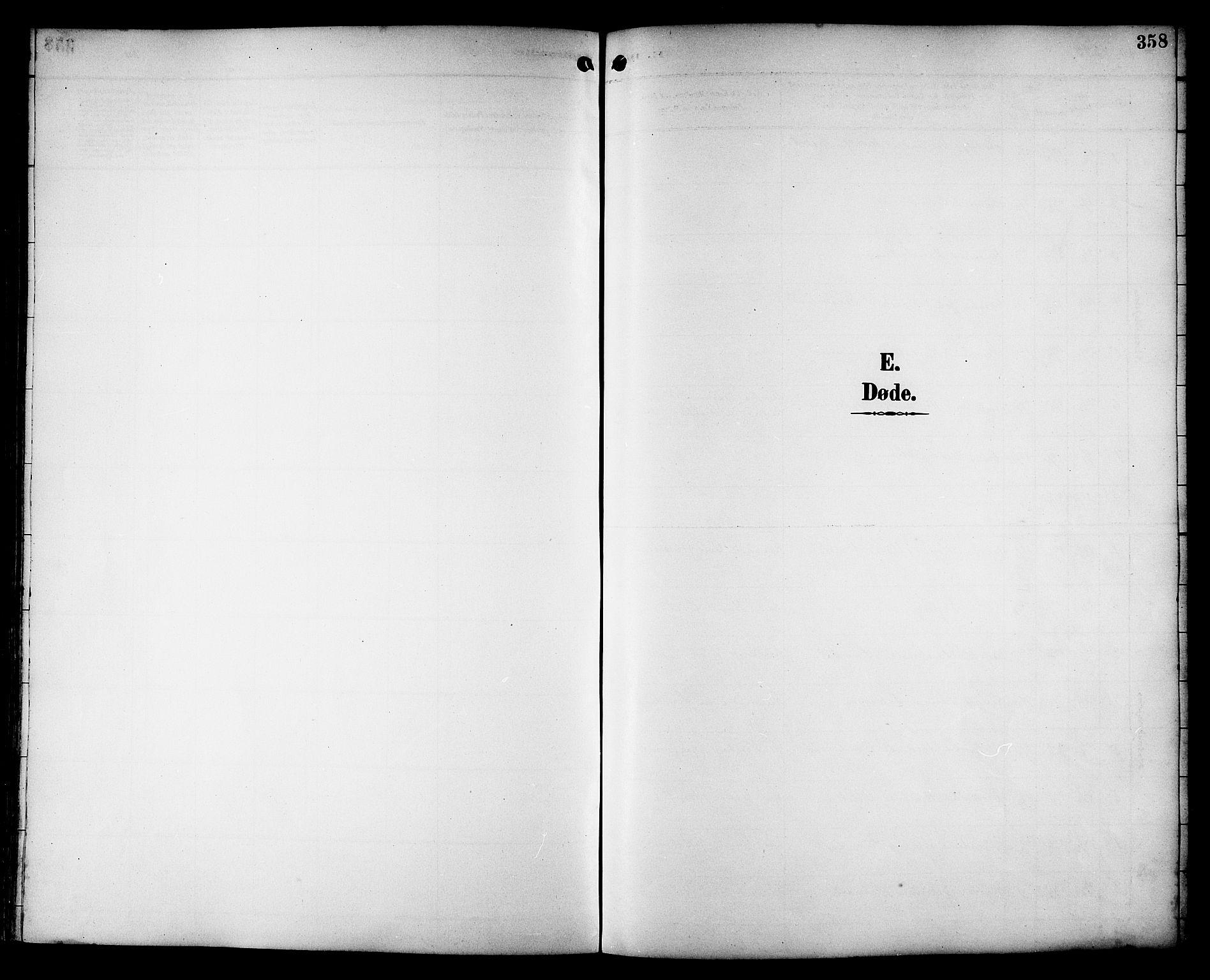 SAT, Ministerialprotokoller, klokkerbøker og fødselsregistre - Sør-Trøndelag, 659/L0746: Klokkerbok nr. 659C03, 1893-1912, s. 358