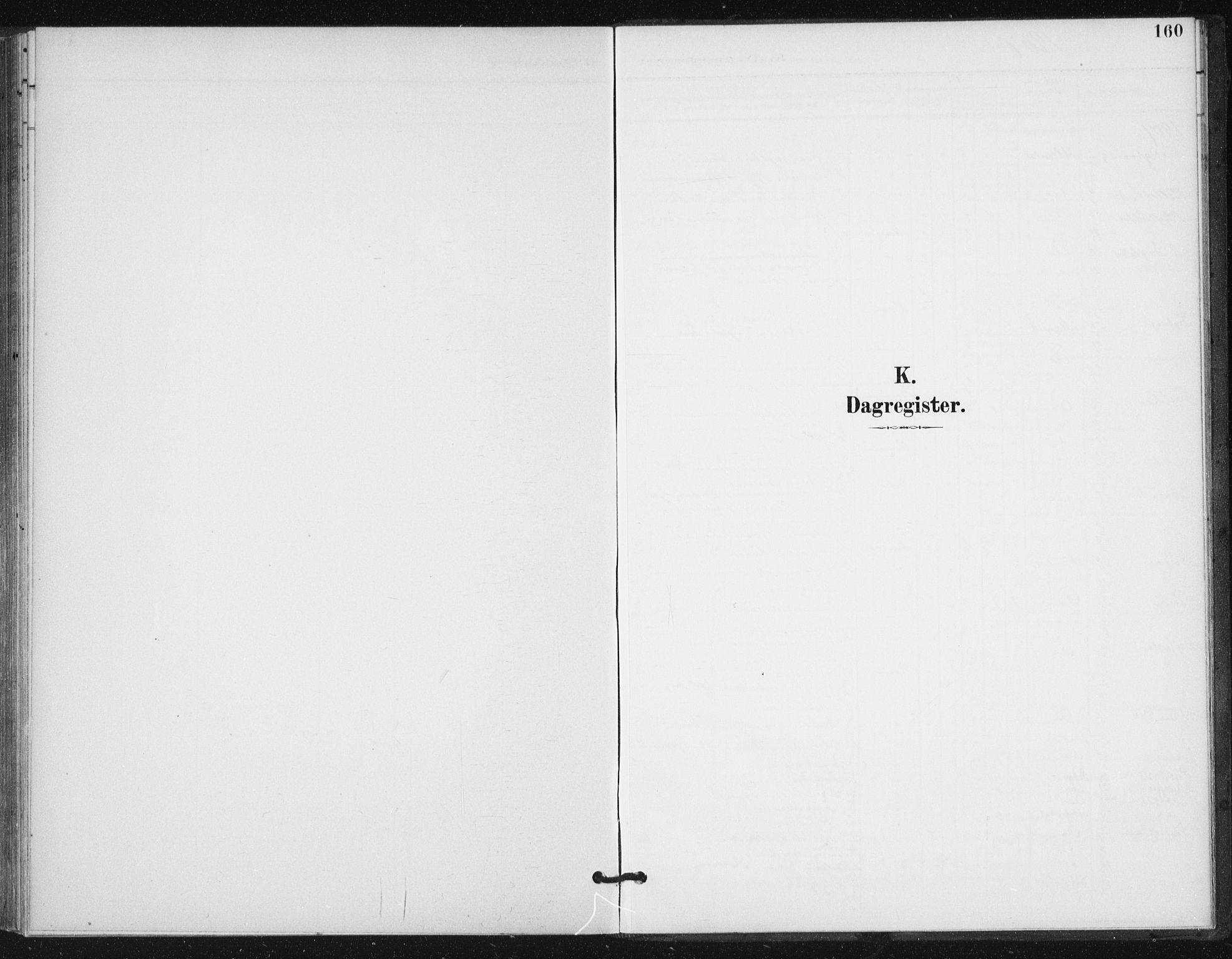 SAT, Ministerialprotokoller, klokkerbøker og fødselsregistre - Sør-Trøndelag, 654/L0664: Ministerialbok nr. 654A02, 1895-1907, s. 160