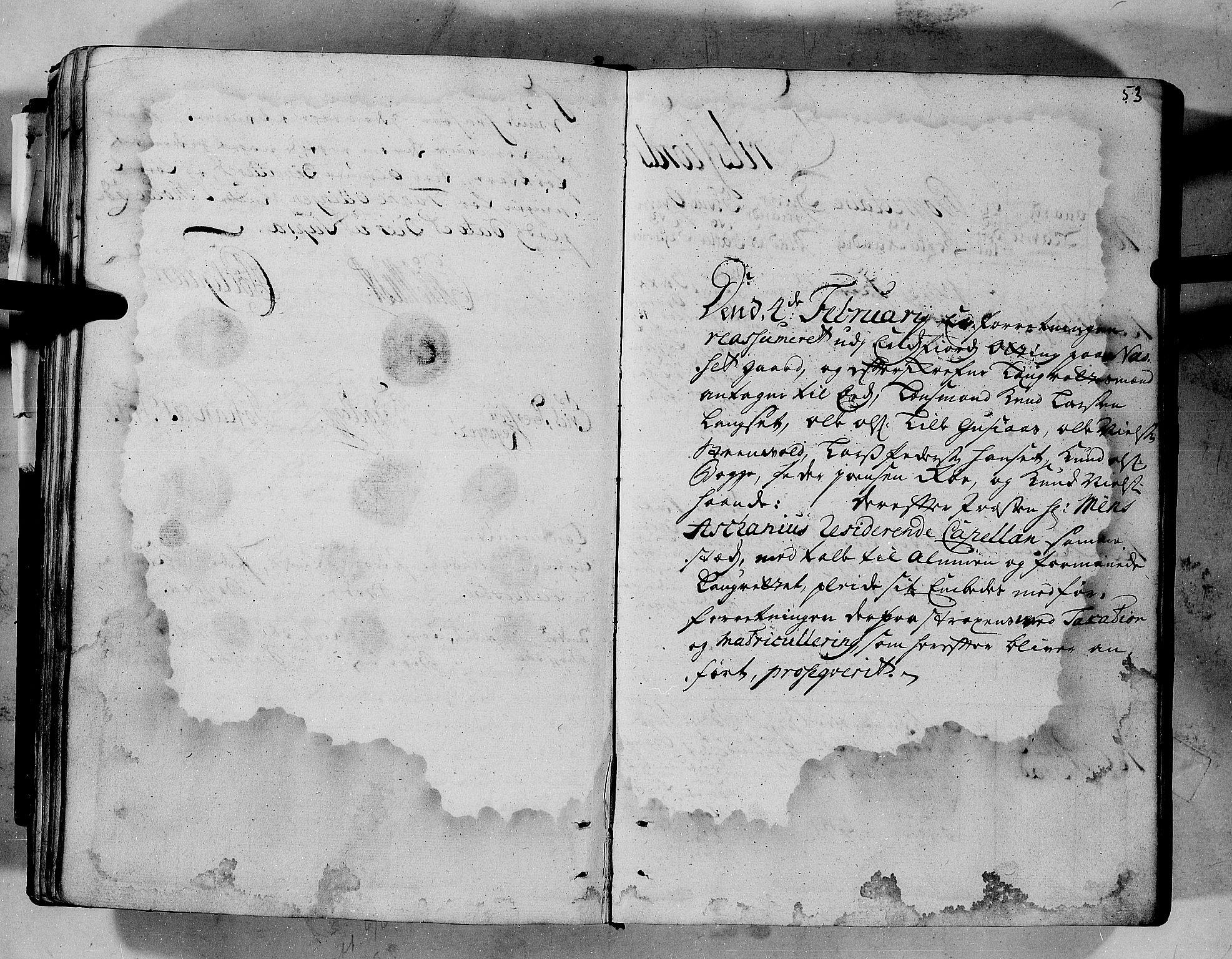 RA, Rentekammeret inntil 1814, Realistisk ordnet avdeling, N/Nb/Nbf/L0152: Romsdal eksaminasjonsprotokoll, 1724, s. 52b-53a