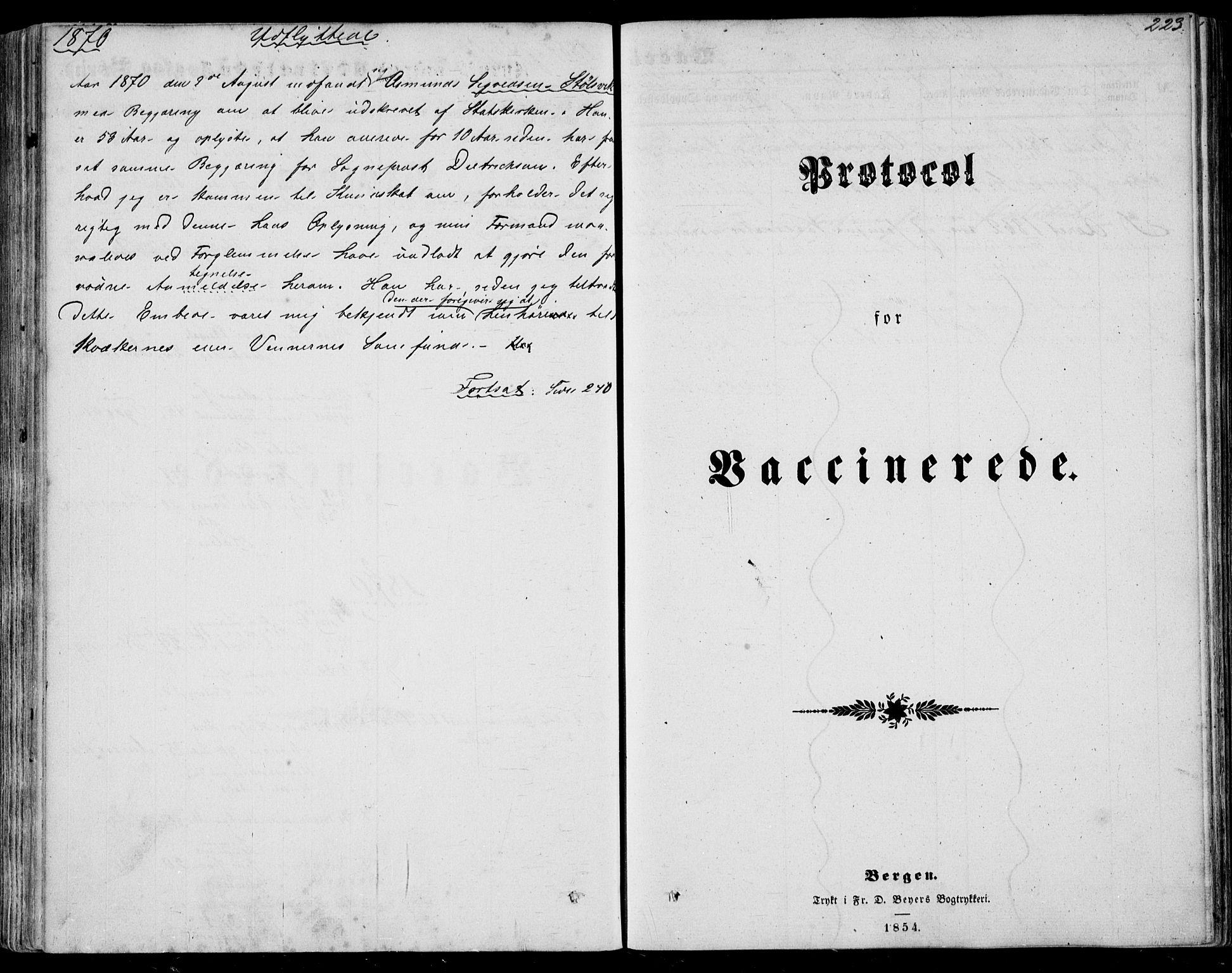 SAST, Nedstrand sokneprestkontor, IV: Ministerialbok nr. A 9, 1861-1876, s. 223