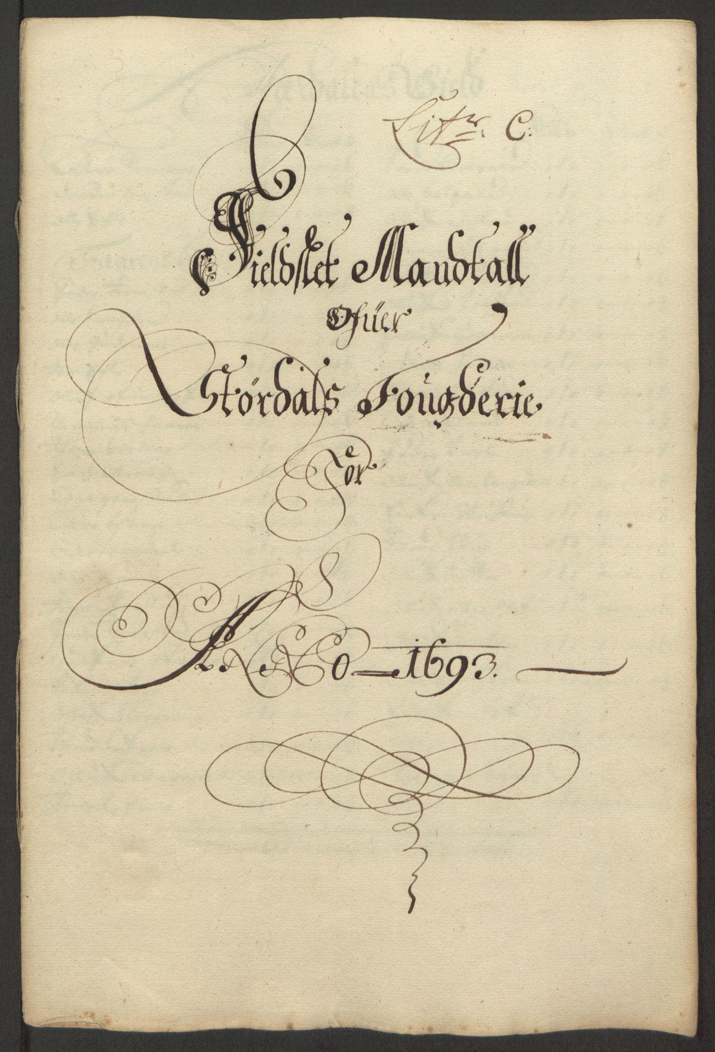 RA, Rentekammeret inntil 1814, Reviderte regnskaper, Fogderegnskap, R62/L4186: Fogderegnskap Stjørdal og Verdal, 1693-1694, s. 32