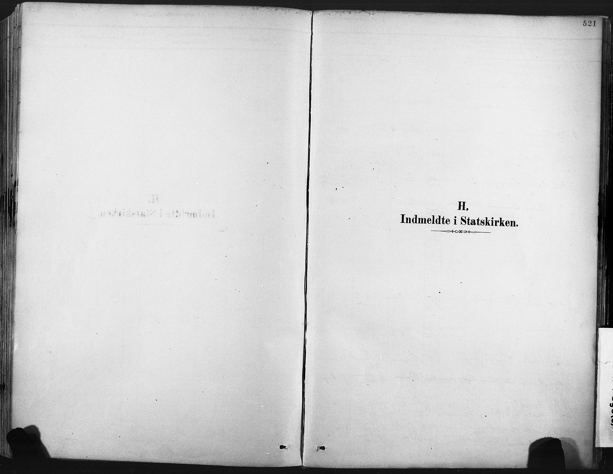 SAKO, Porsgrunn kirkebøker , F/Fa/L0008: Ministerialbok nr. 8, 1878-1895, s. 521