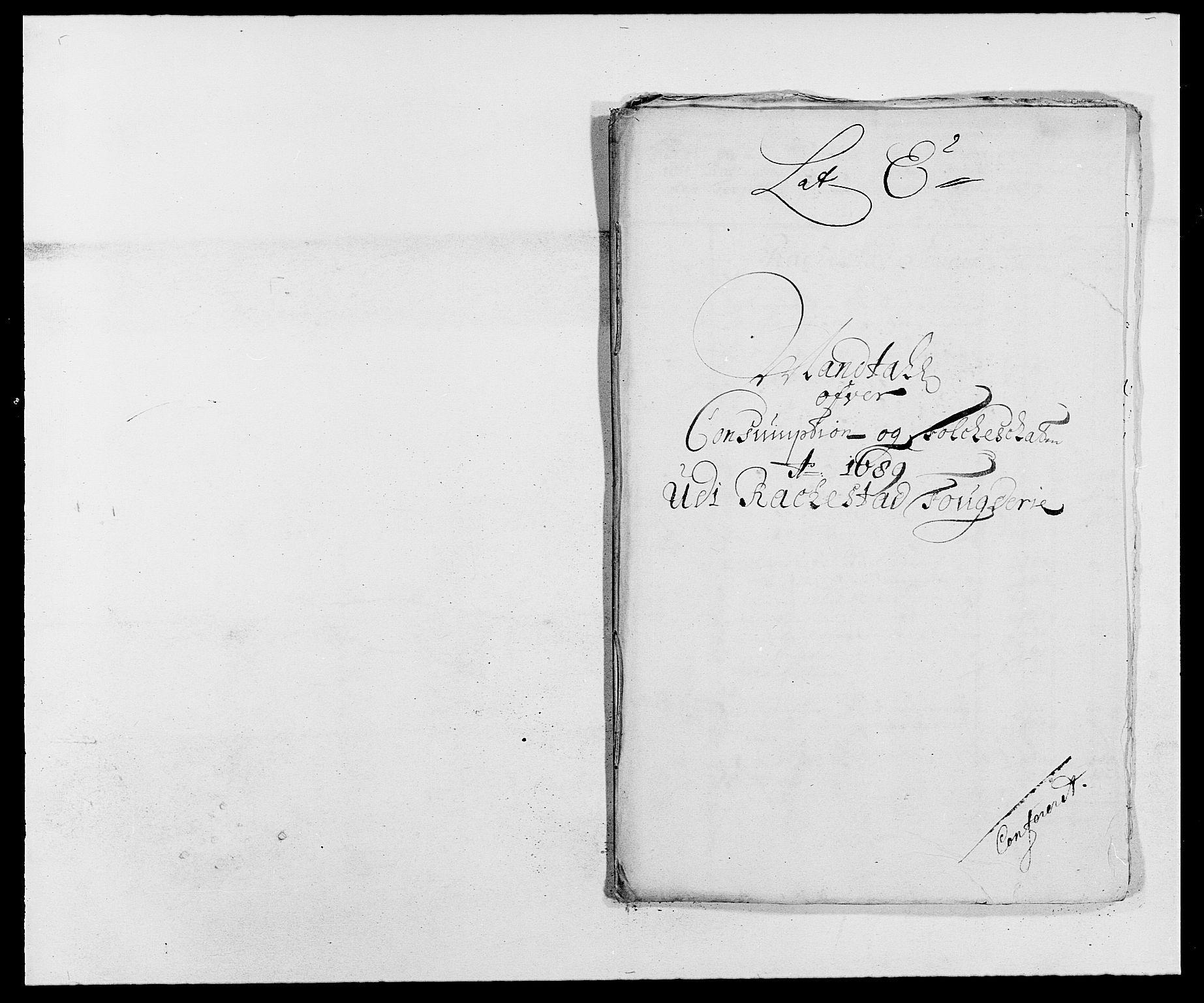 RA, Rentekammeret inntil 1814, Reviderte regnskaper, Fogderegnskap, R05/L0277: Fogderegnskap Rakkestad, 1689-1690, s. 123