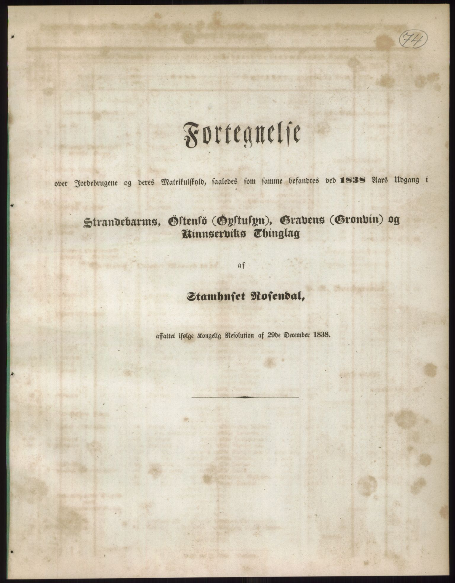 RA, 1838-matrikkelen (publikasjon)*, 1838, s. 74