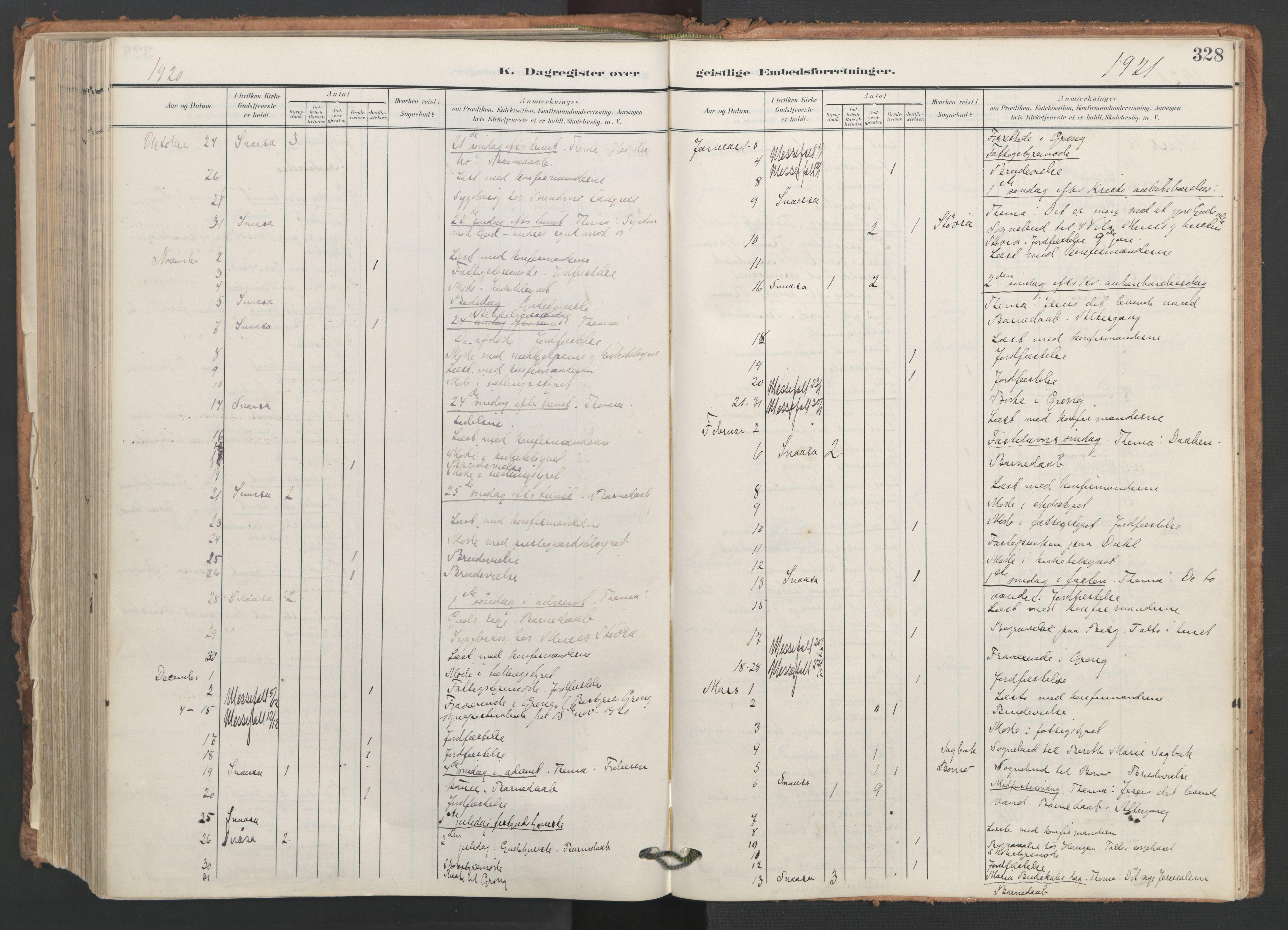 SAT, Ministerialprotokoller, klokkerbøker og fødselsregistre - Nord-Trøndelag, 749/L0477: Ministerialbok nr. 749A11, 1902-1927, s. 328