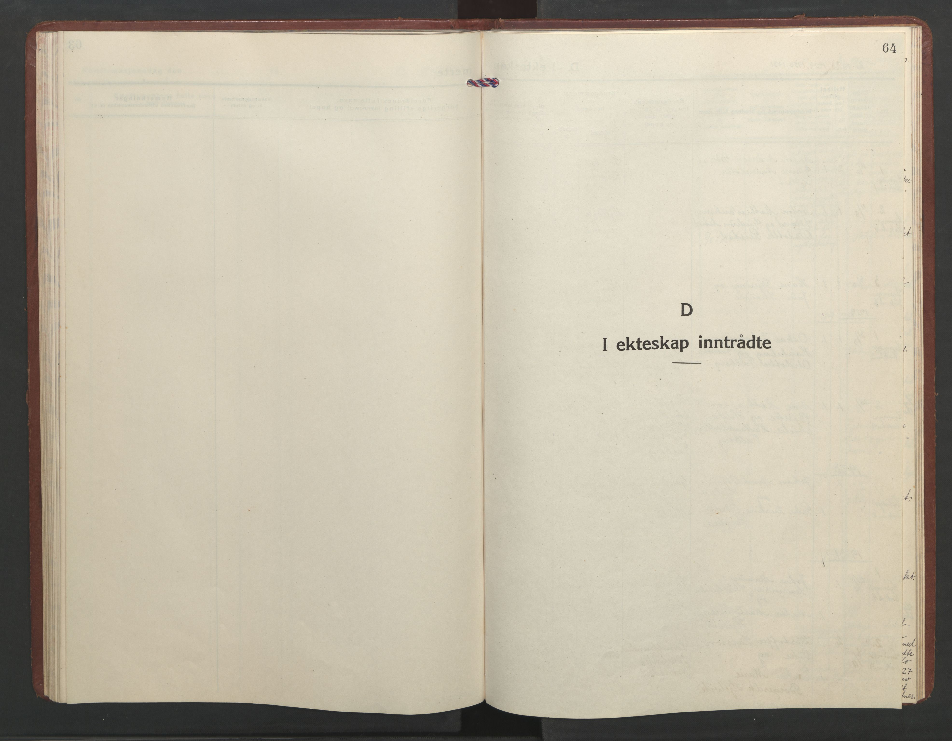 SAT, Ministerialprotokoller, klokkerbøker og fødselsregistre - Møre og Romsdal, 550/L0619: Klokkerbok nr. 550C02, 1928-1967, s. 64