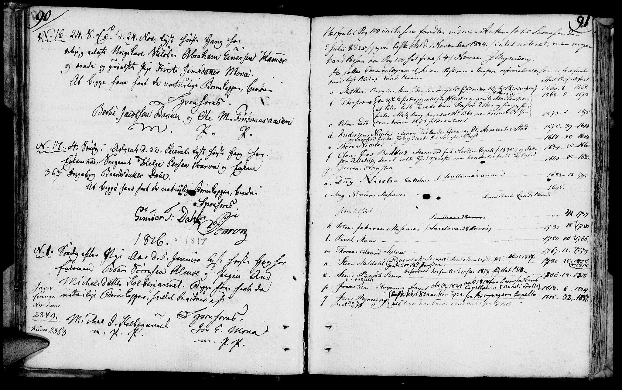 SAT, Ministerialprotokoller, klokkerbøker og fødselsregistre - Nord-Trøndelag, 749/L0468: Ministerialbok nr. 749A02, 1787-1817, s. 90-91