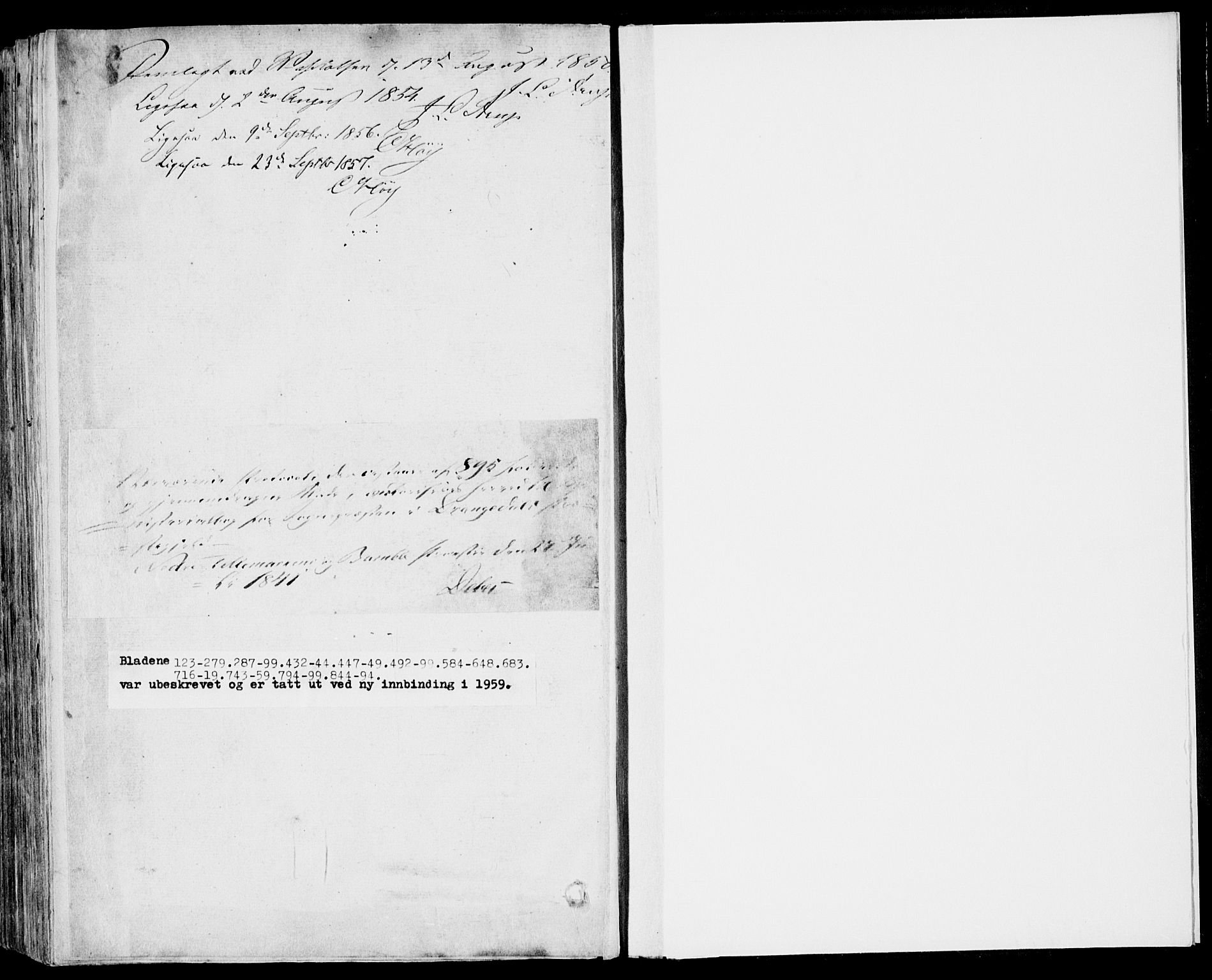 SAKO, Drangedal kirkebøker, F/Fa/L0007b: Ministerialbok nr. 7b, 1837-1856