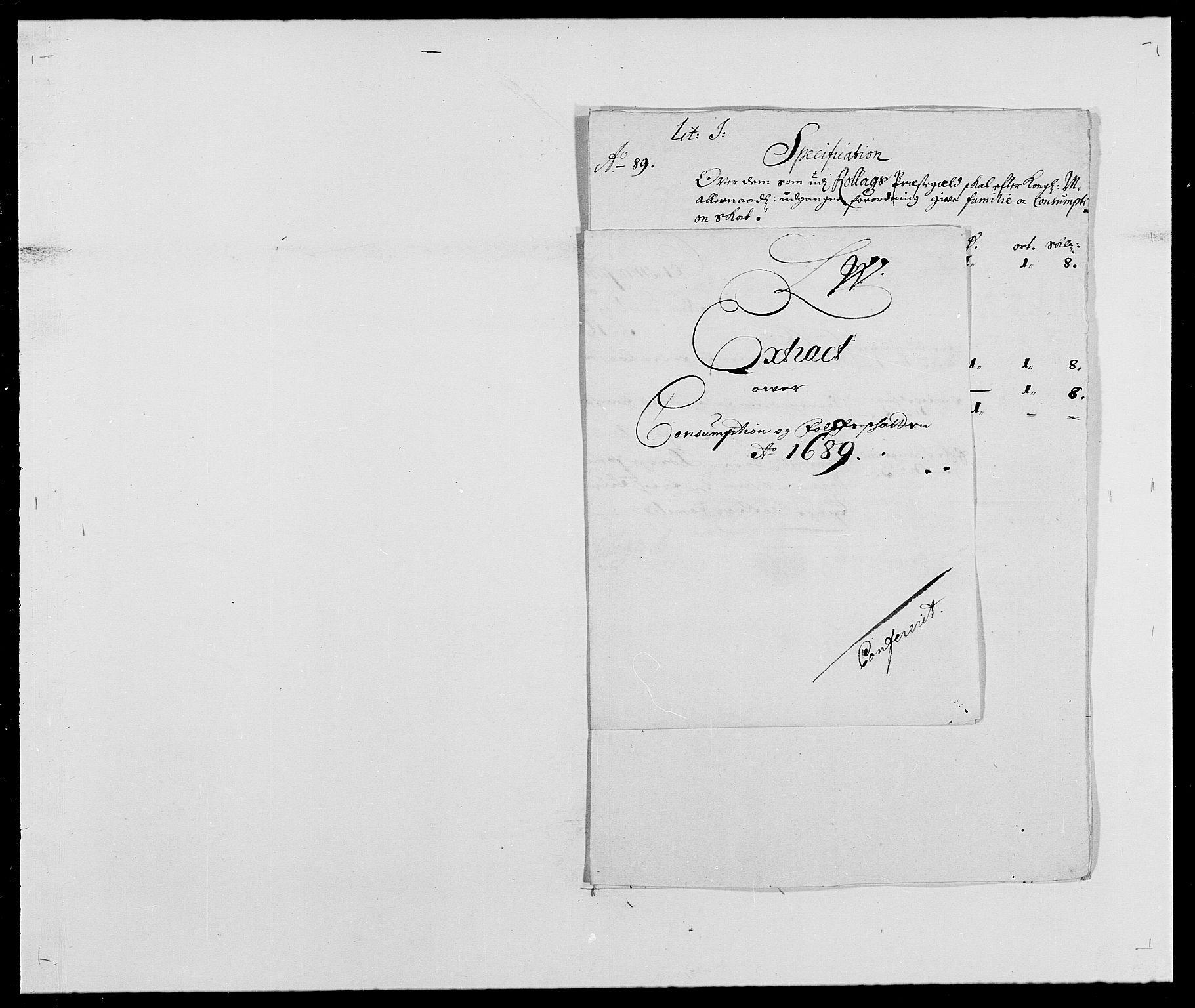RA, Rentekammeret inntil 1814, Reviderte regnskaper, Fogderegnskap, R24/L1573: Fogderegnskap Numedal og Sandsvær, 1687-1691, s. 404