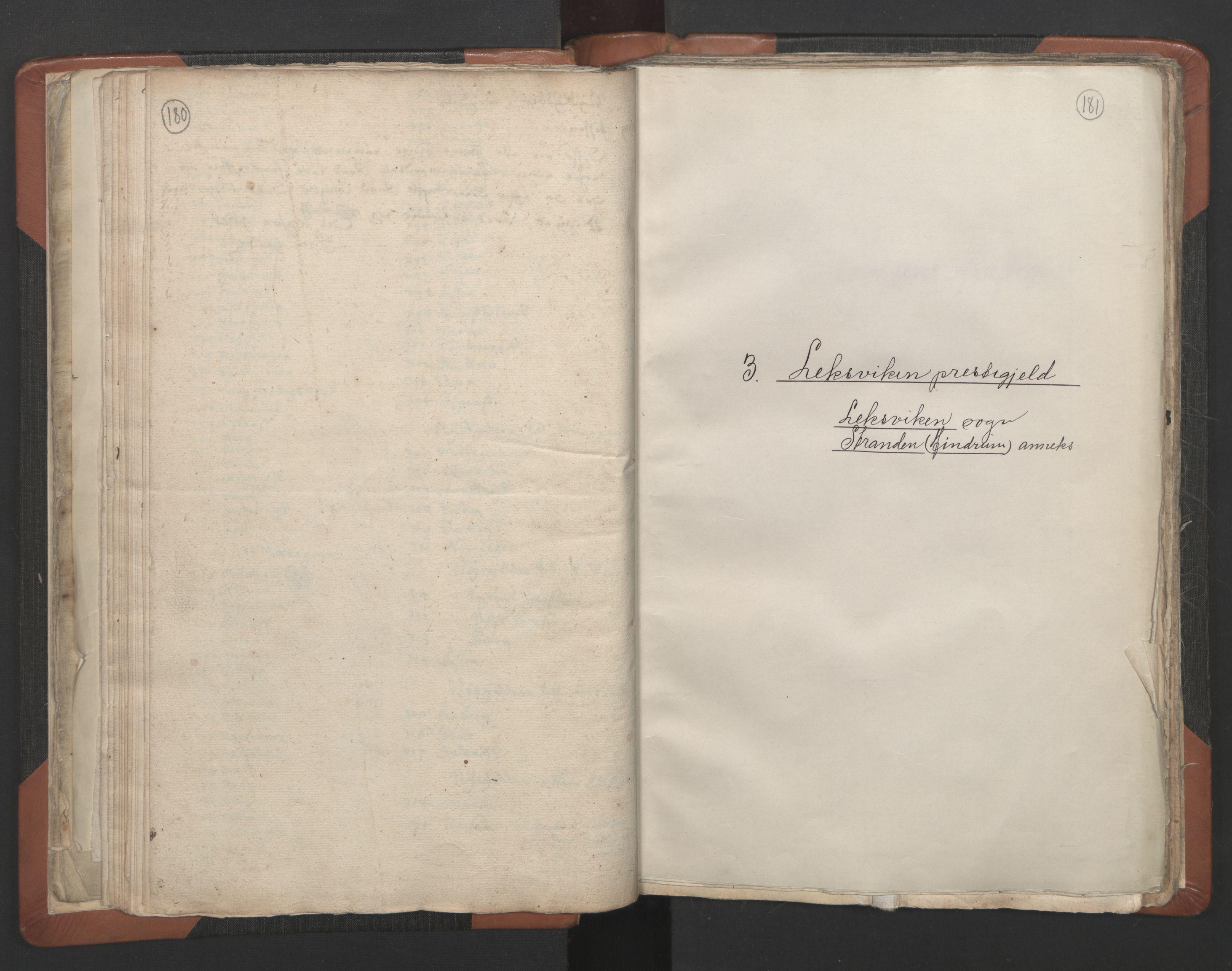 RA, Sogneprestenes manntall 1664-1666, nr. 32: Innherad prosti, 1664-1666, s. 180-181