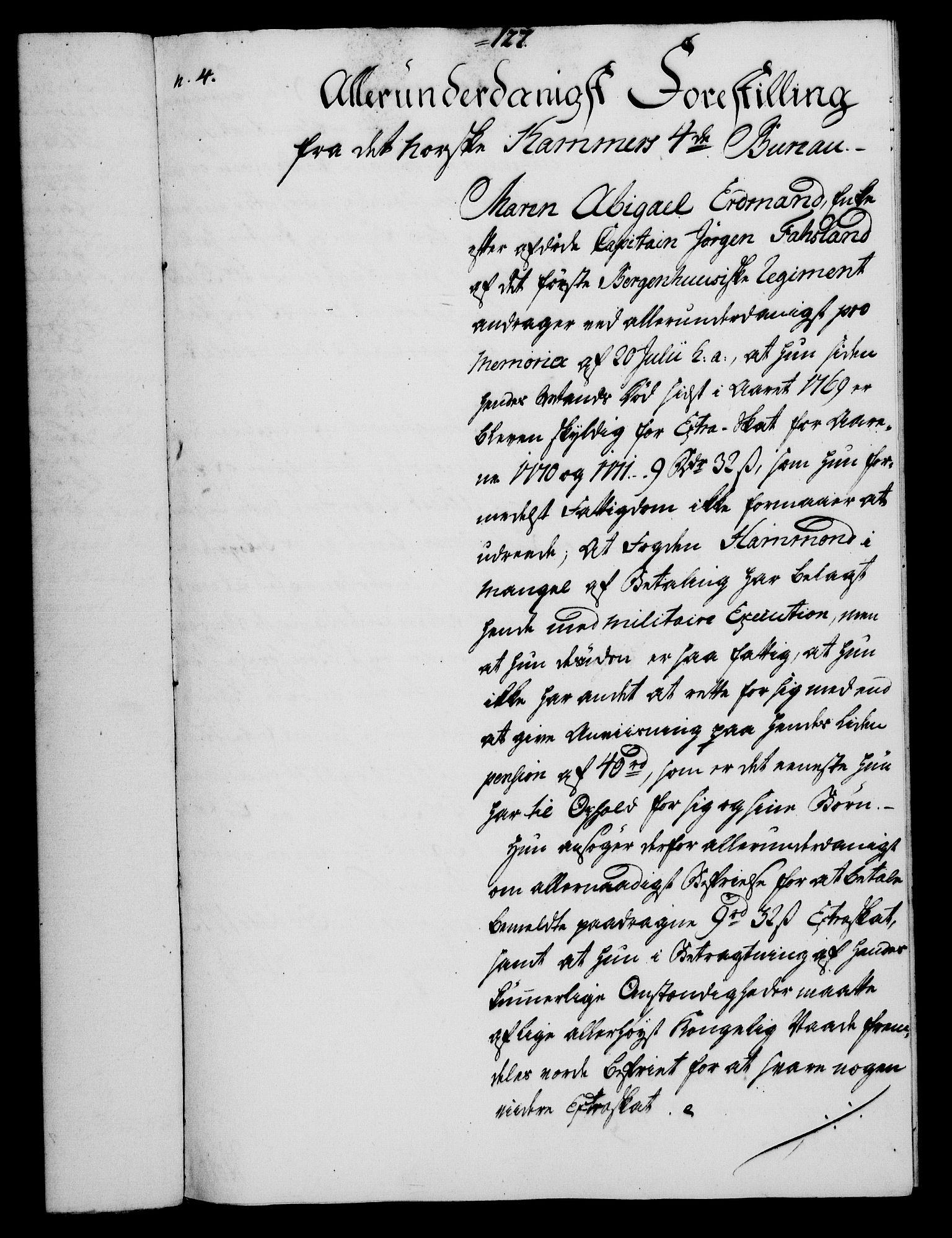 RA, Rentekammeret, Kammerkanselliet, G/Gf/Gfa/L0054: Norsk relasjons- og resolusjonsprotokoll (merket RK 52.54), 1771-1772, s. 694