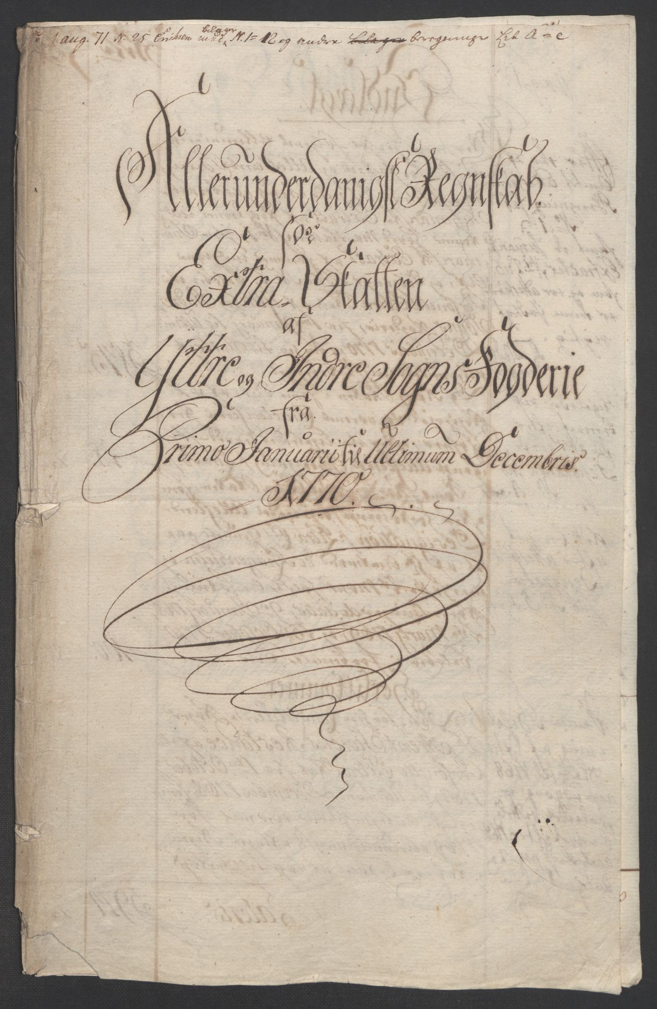RA, Rentekammeret inntil 1814, Realistisk ordnet avdeling, Ol/L0018: [Gg 10]: Ekstraskatten, 23.09.1762. Sogn, 1762-1772, s. 254