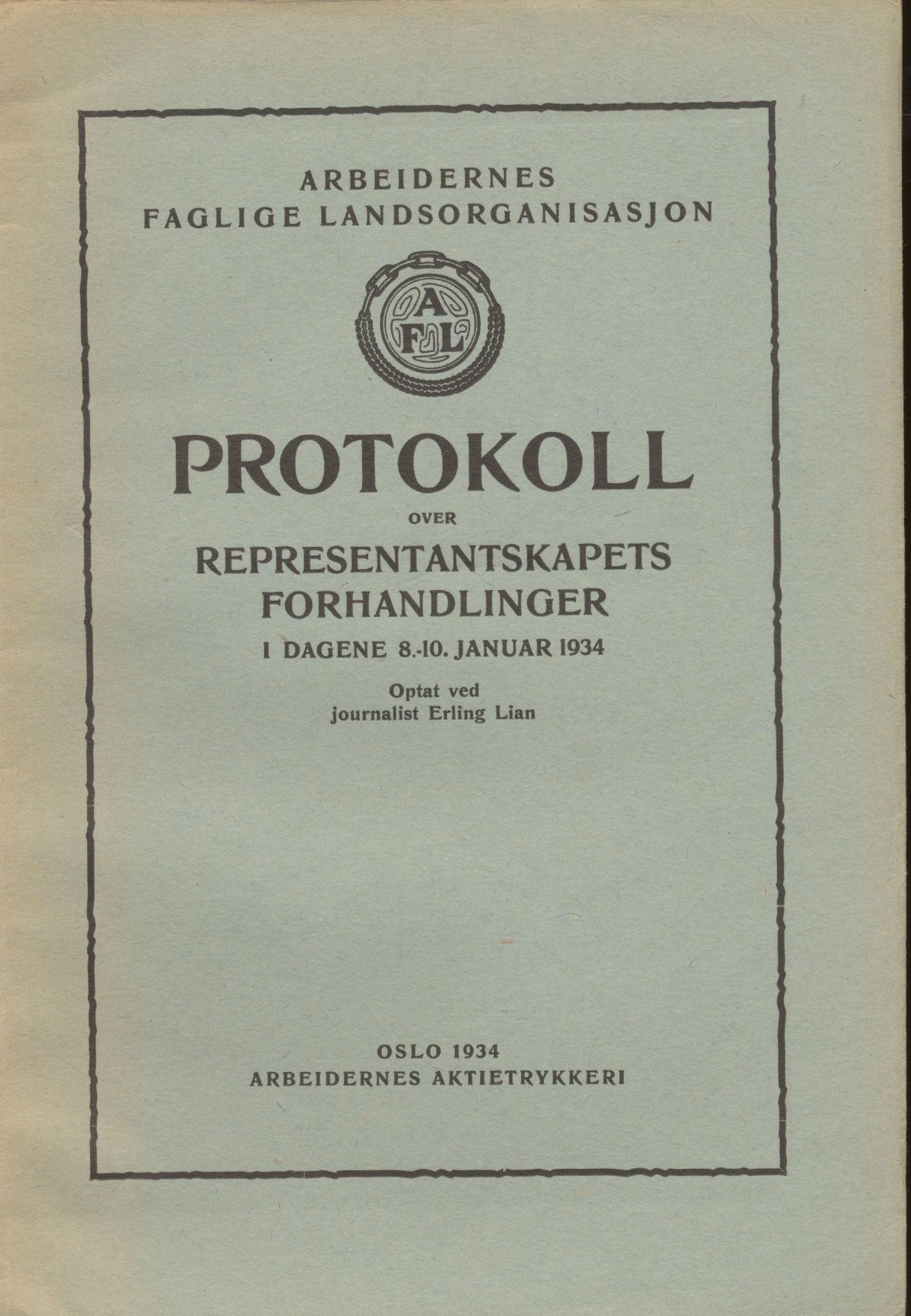 AAB, Landsorganisasjonen i Norge, 1911-1953, s. 71