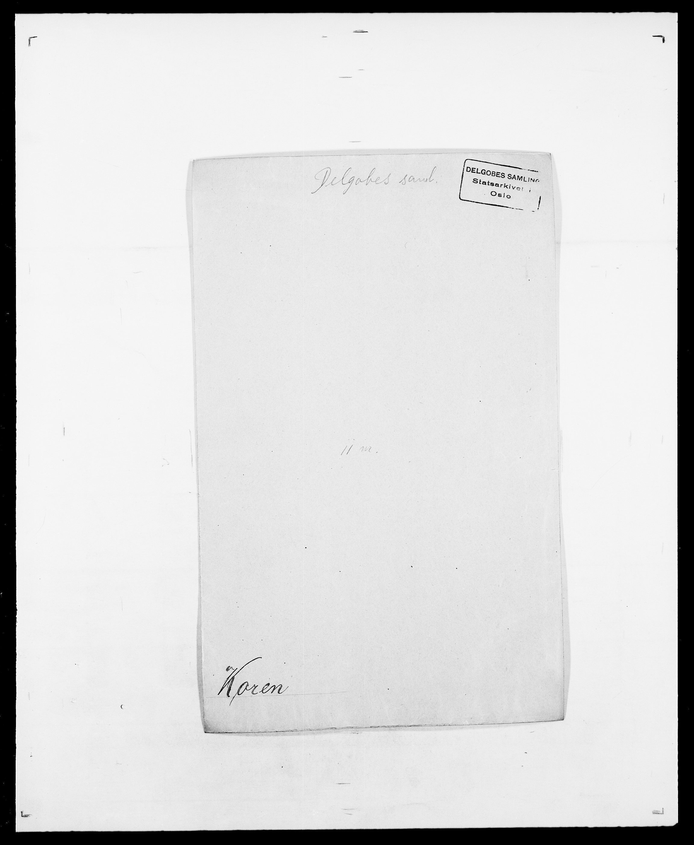 SAO, Delgobe, Charles Antoine - samling, D/Da/L0021: Klagenberg - Kristoft, s. 558