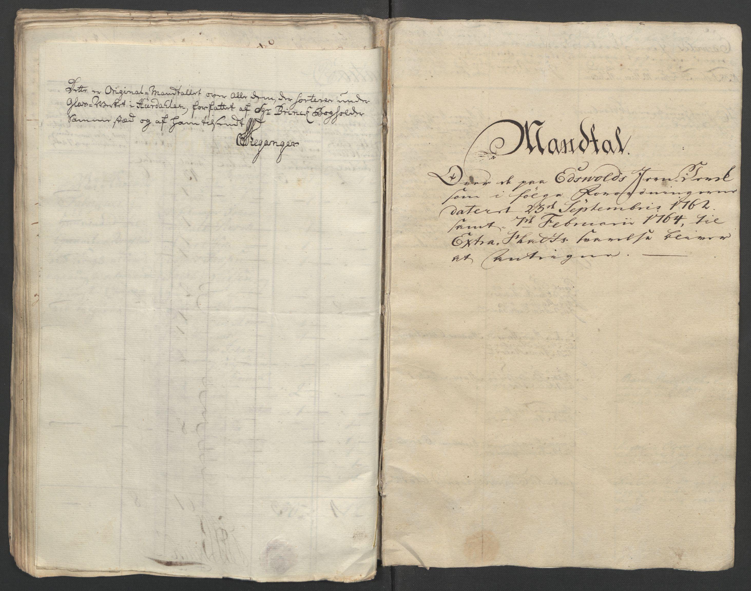 RA, Rentekammeret inntil 1814, Reviderte regnskaper, Fogderegnskap, R12/L0804: Ekstraskatten Øvre Romerike, 1764, s. 148