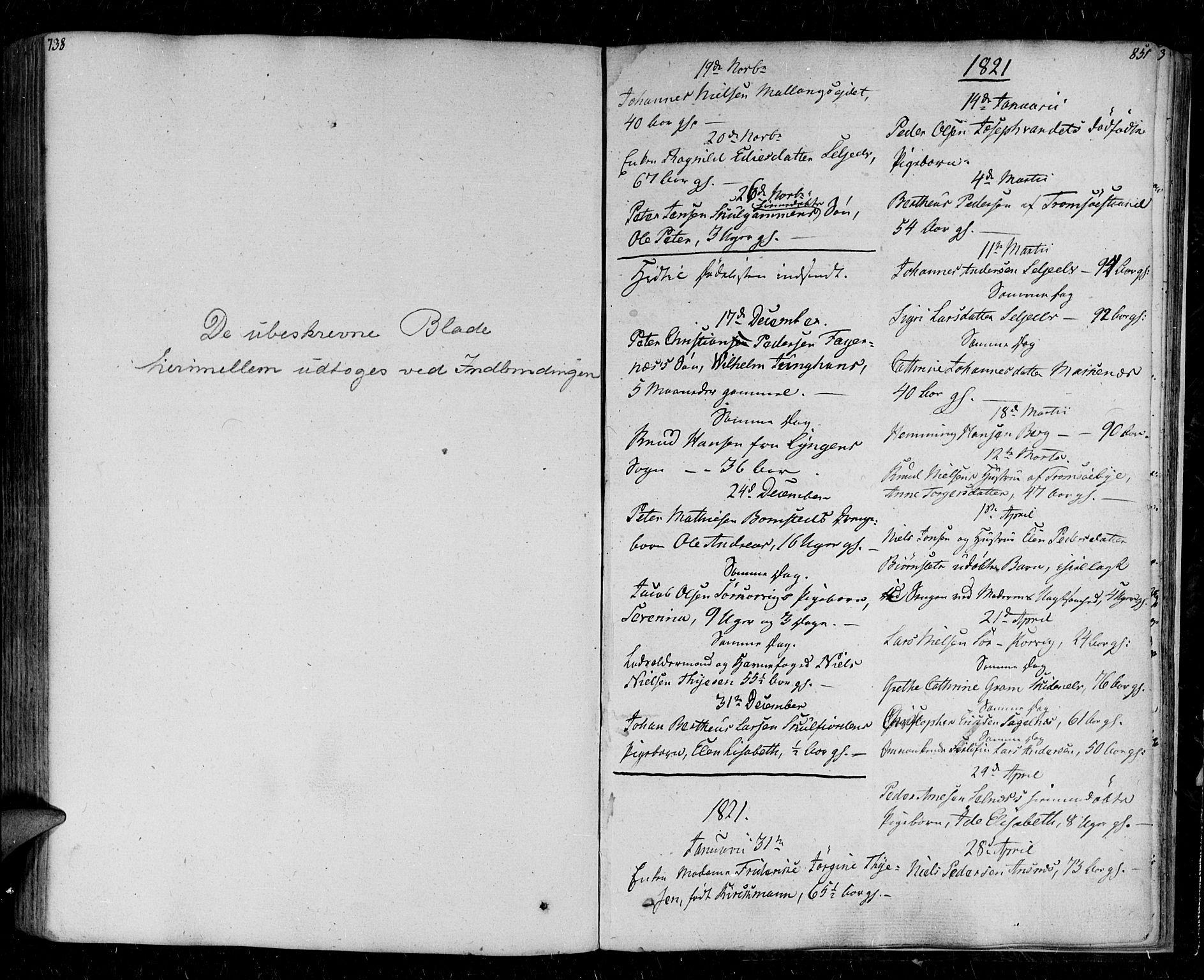 SATØ, Tromsø sokneprestkontor/stiftsprosti/domprosti, G/Ga/L0008kirke: Ministerialbok nr. 8, 1829-1837, s. 851