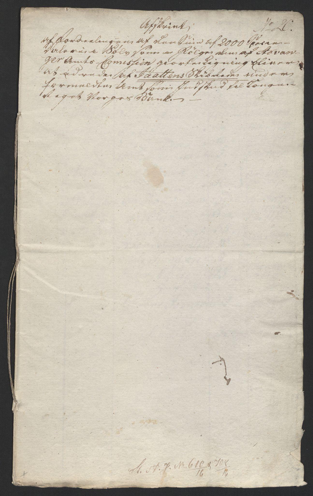 NOBA, Norges Bank/Sølvskatten 1816*, 1816-1825, s. 19