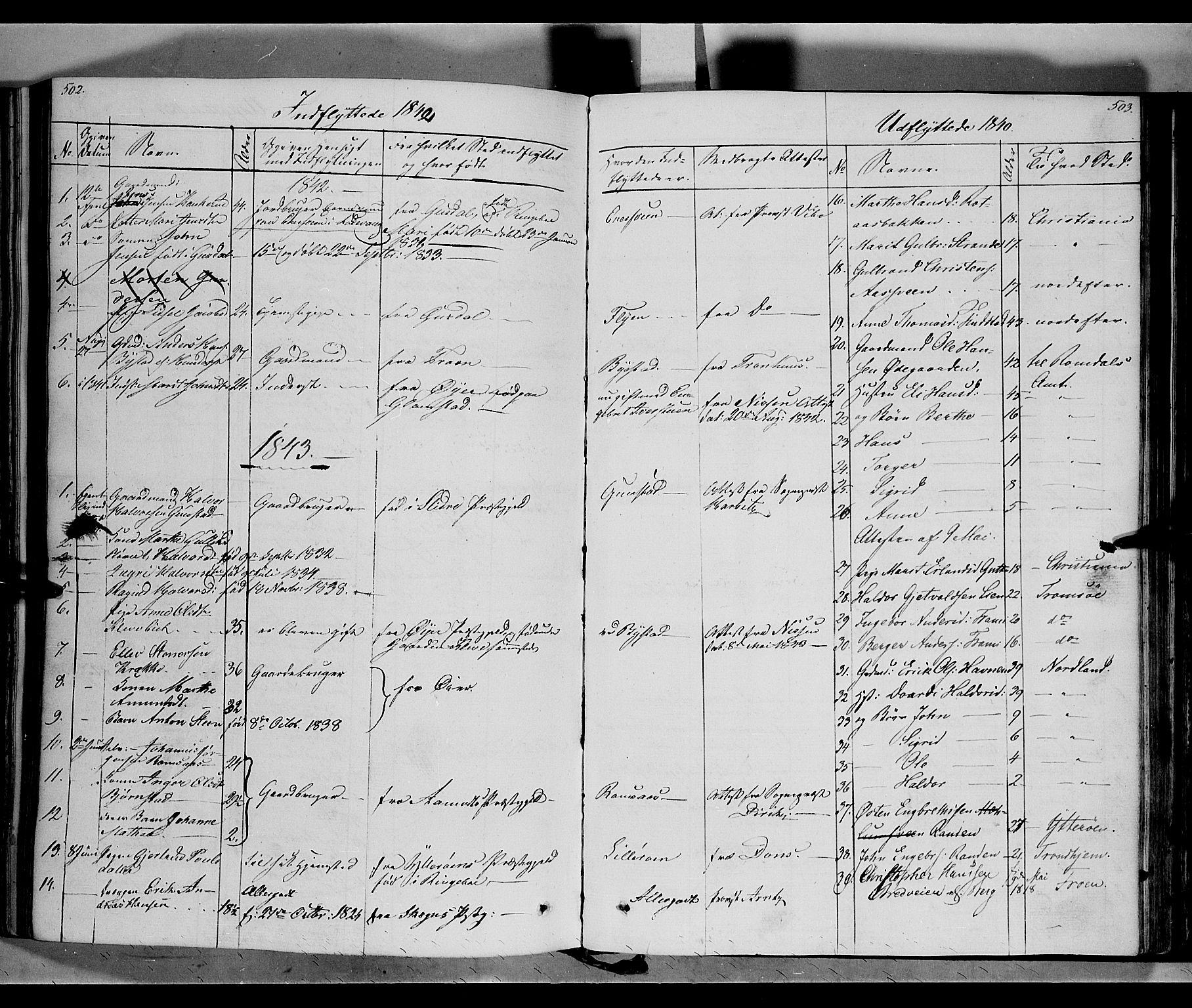 SAH, Ringebu prestekontor, Ministerialbok nr. 5, 1839-1848, s. 502-503