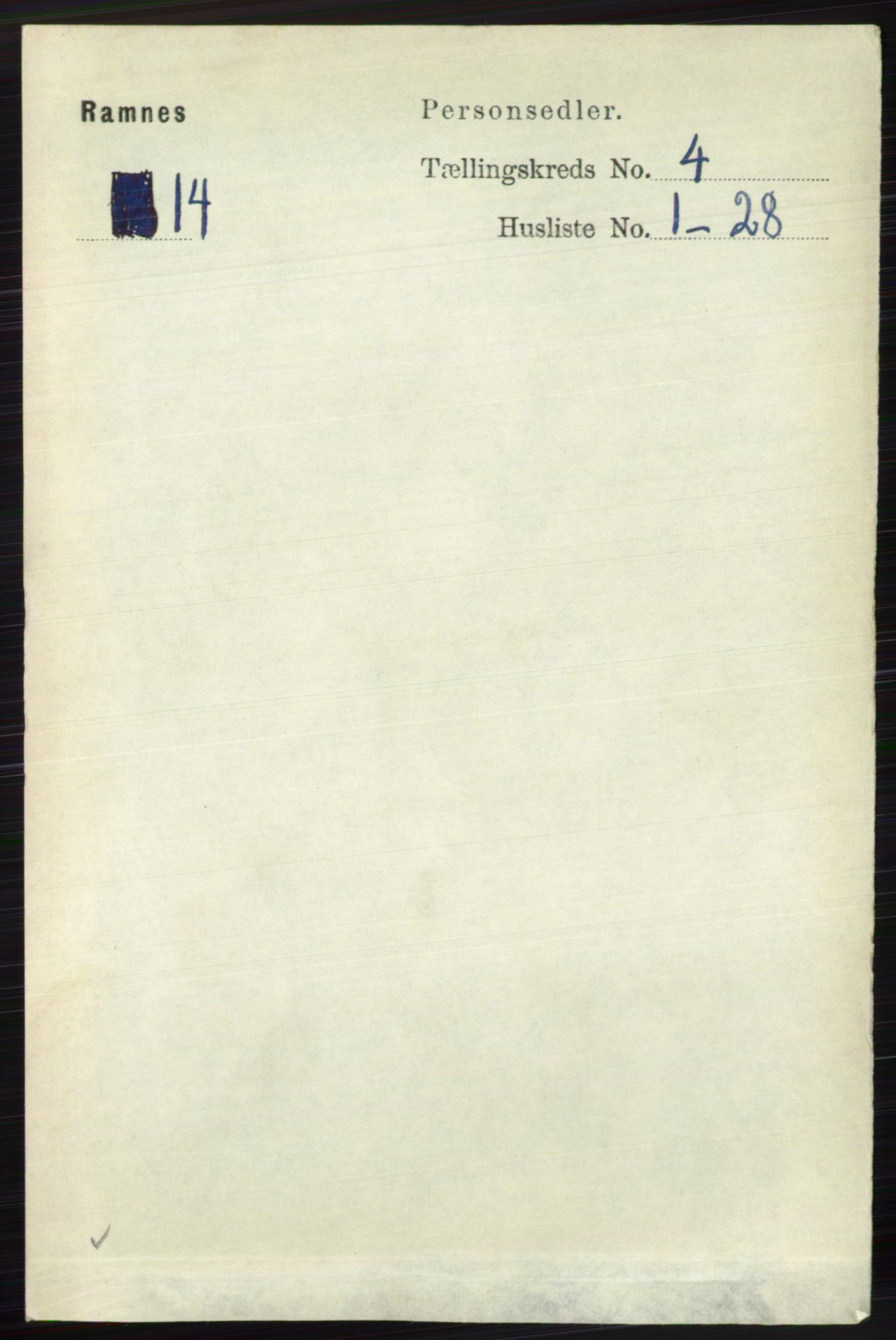 RA, Folketelling 1891 for 0718 Ramnes herred, 1891, s. 1948