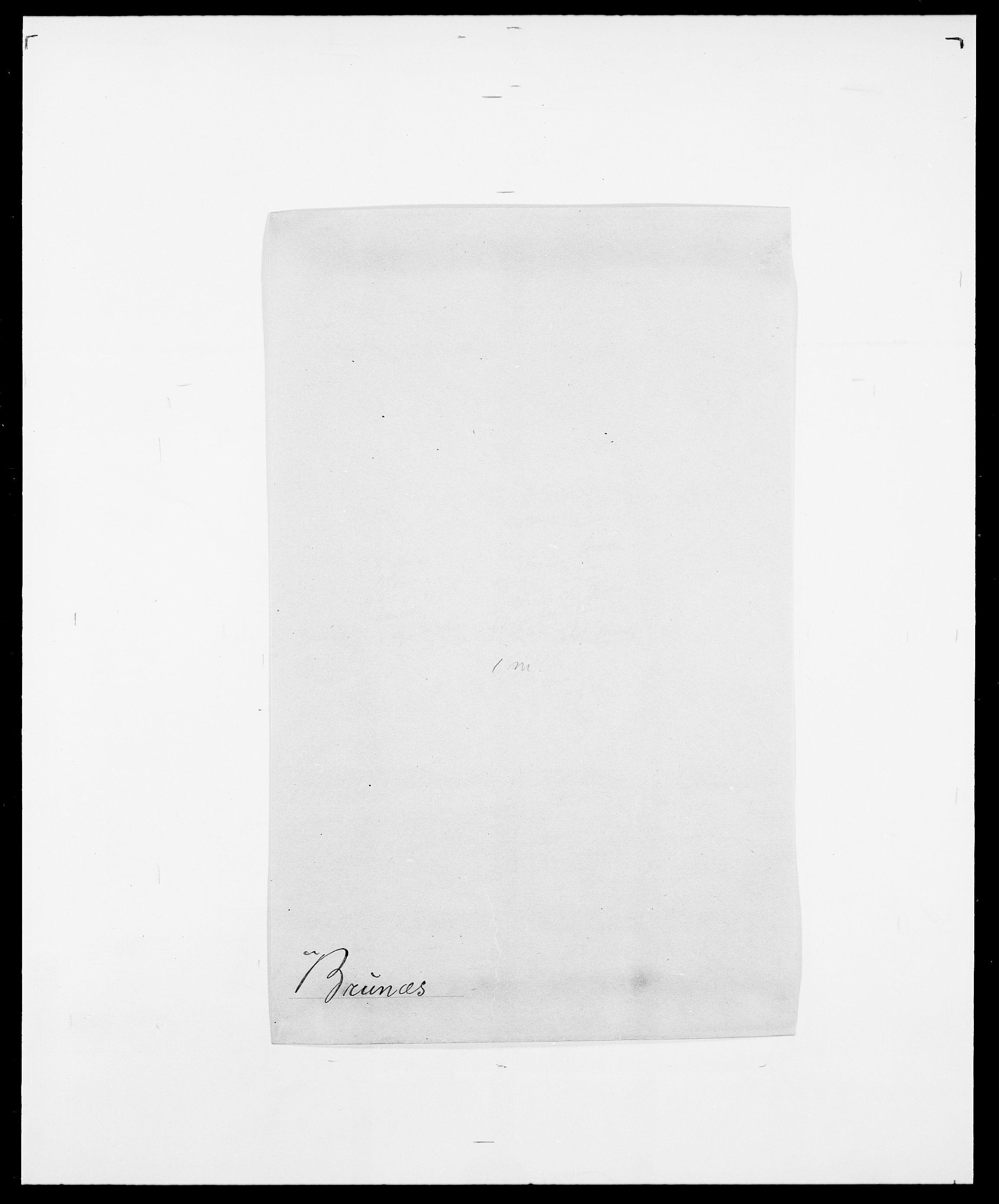 SAO, Delgobe, Charles Antoine - samling, D/Da/L0006: Brambani - Brønø, s. 845